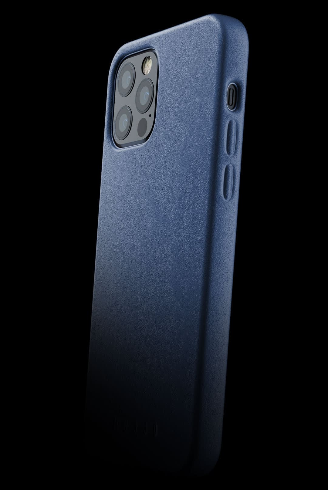 full leather case for iphone 12 pro monaco blue 002