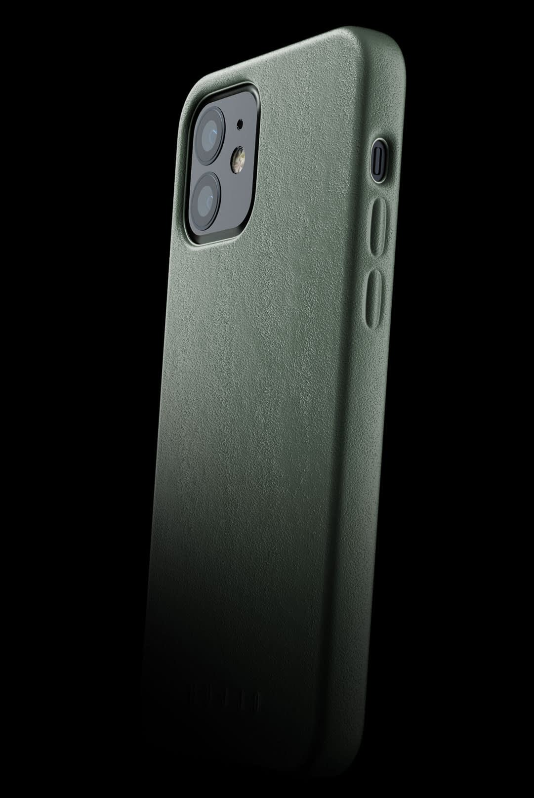 full leather case for iphone 12 slate green 002