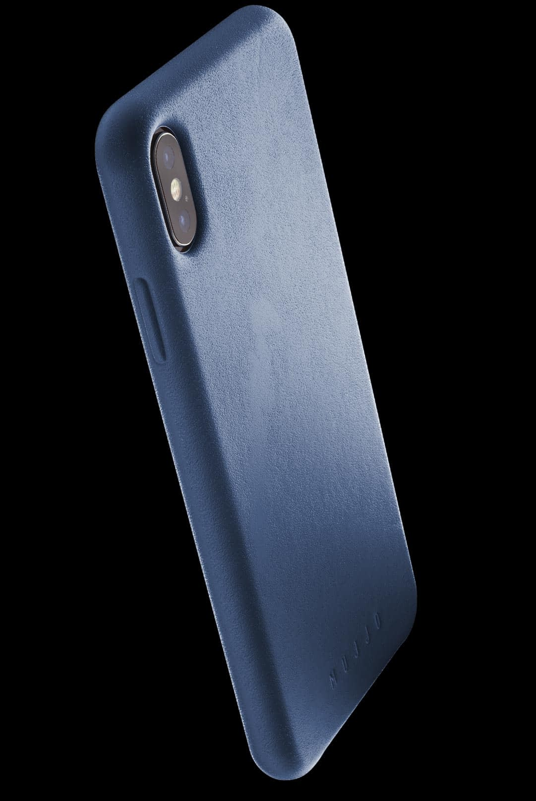 full leather case for iphone Xs Max blue 002