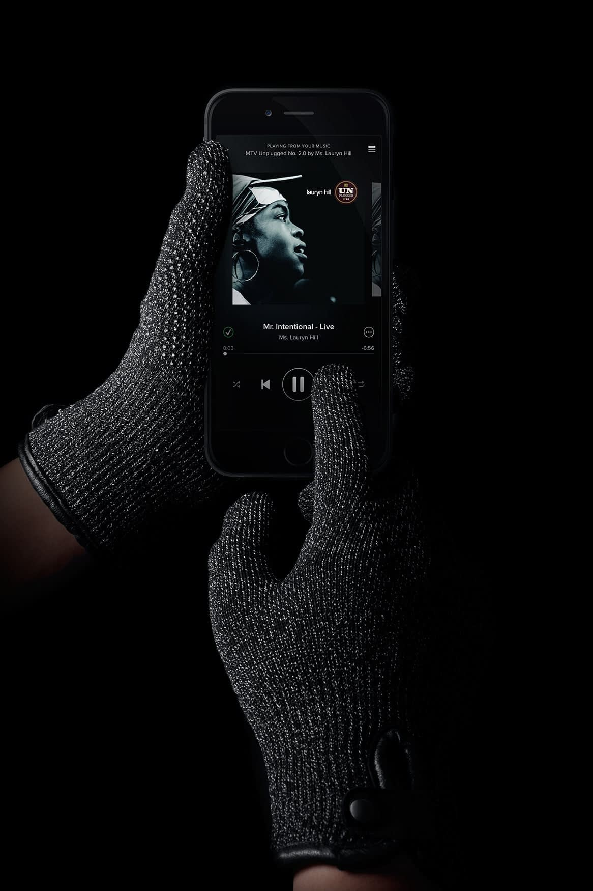 Double Layered Touchscreen Gloves 005
