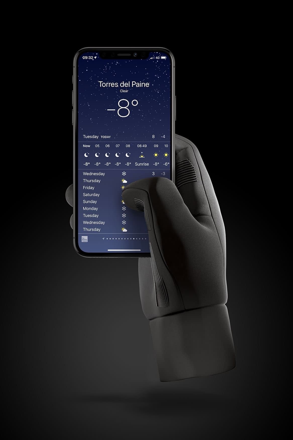 Double Insulated Touchscreen Gloves 01
