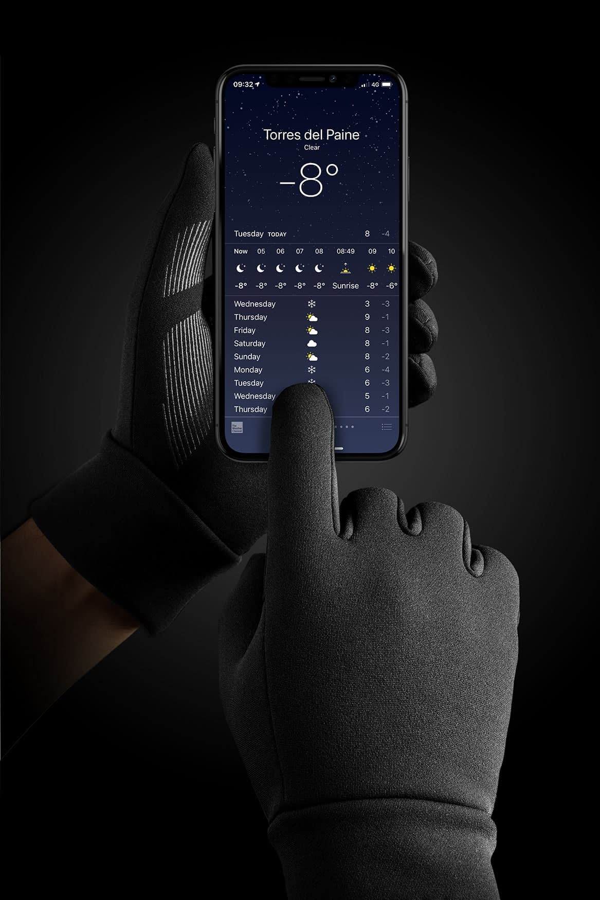 Double Insulated Touchscreen Gloves 02