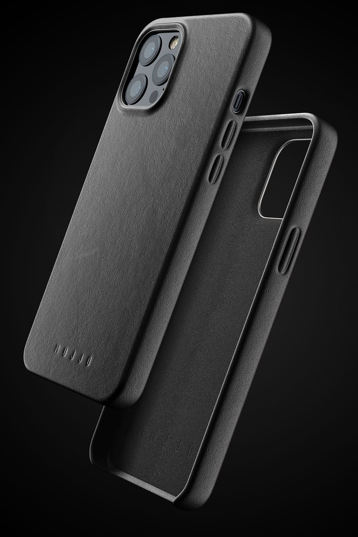 Full Leather Case for iPhone 12 Pro Max Black 01