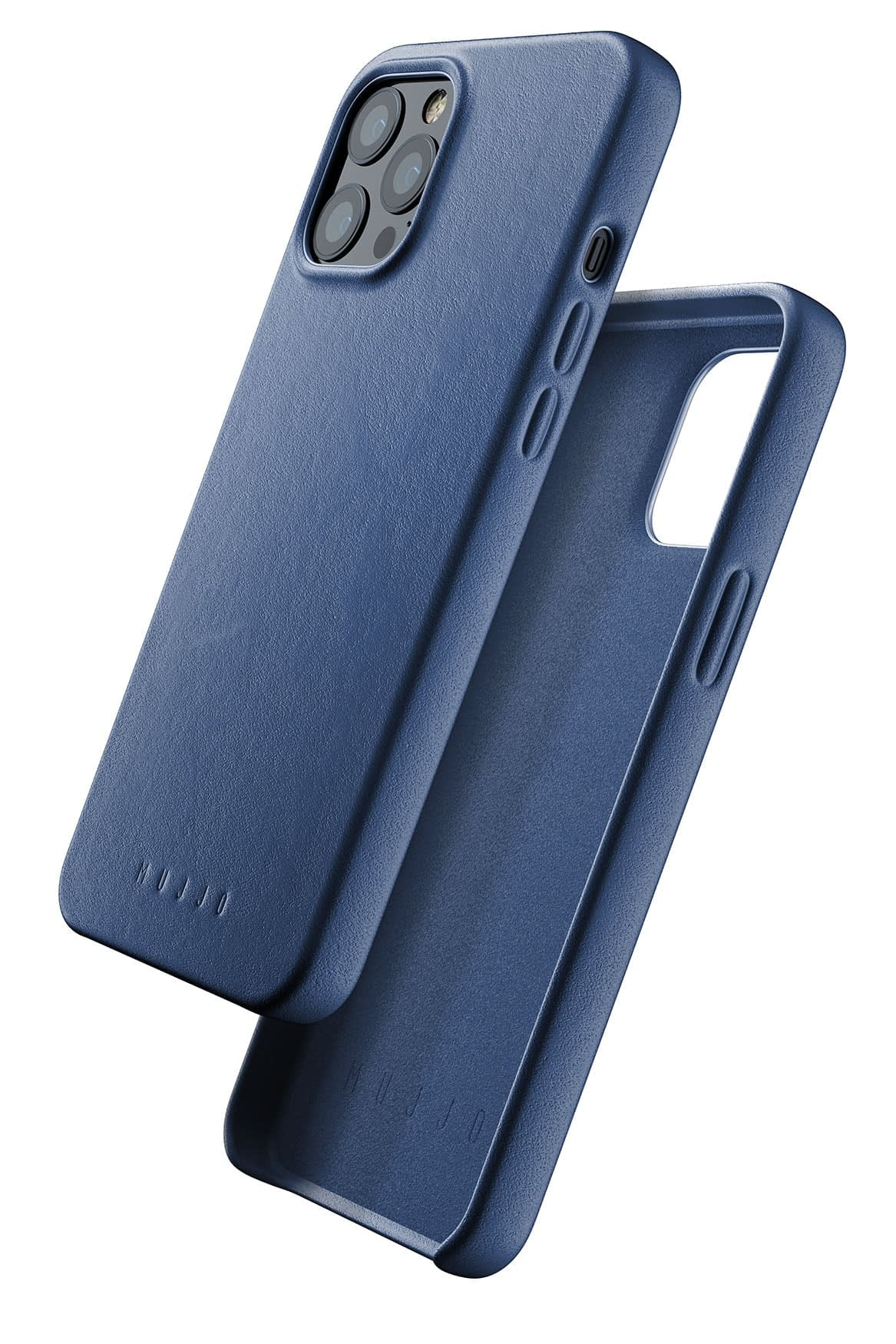 Full Leather Case for iPhone 12 Pro Max Monaco Blue 01