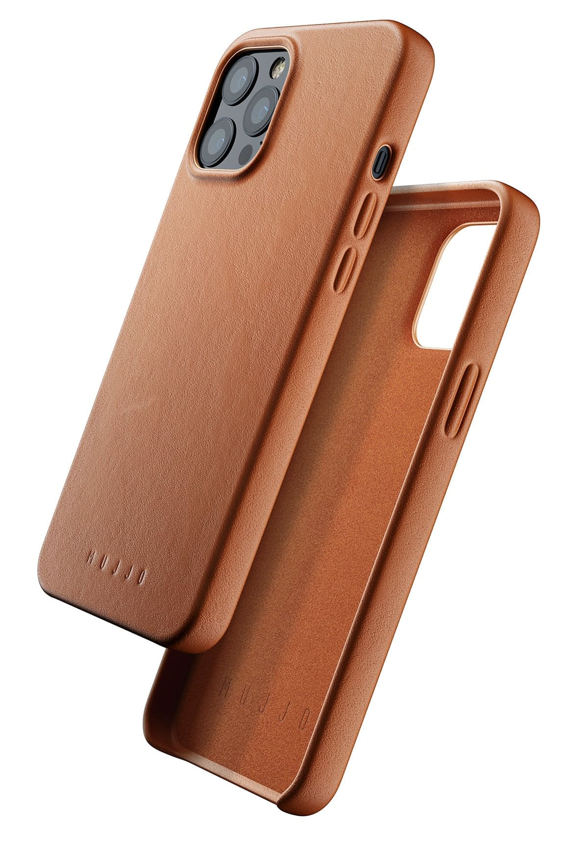 Full Leather Case for iPhone 12 Pro Max Tan 01