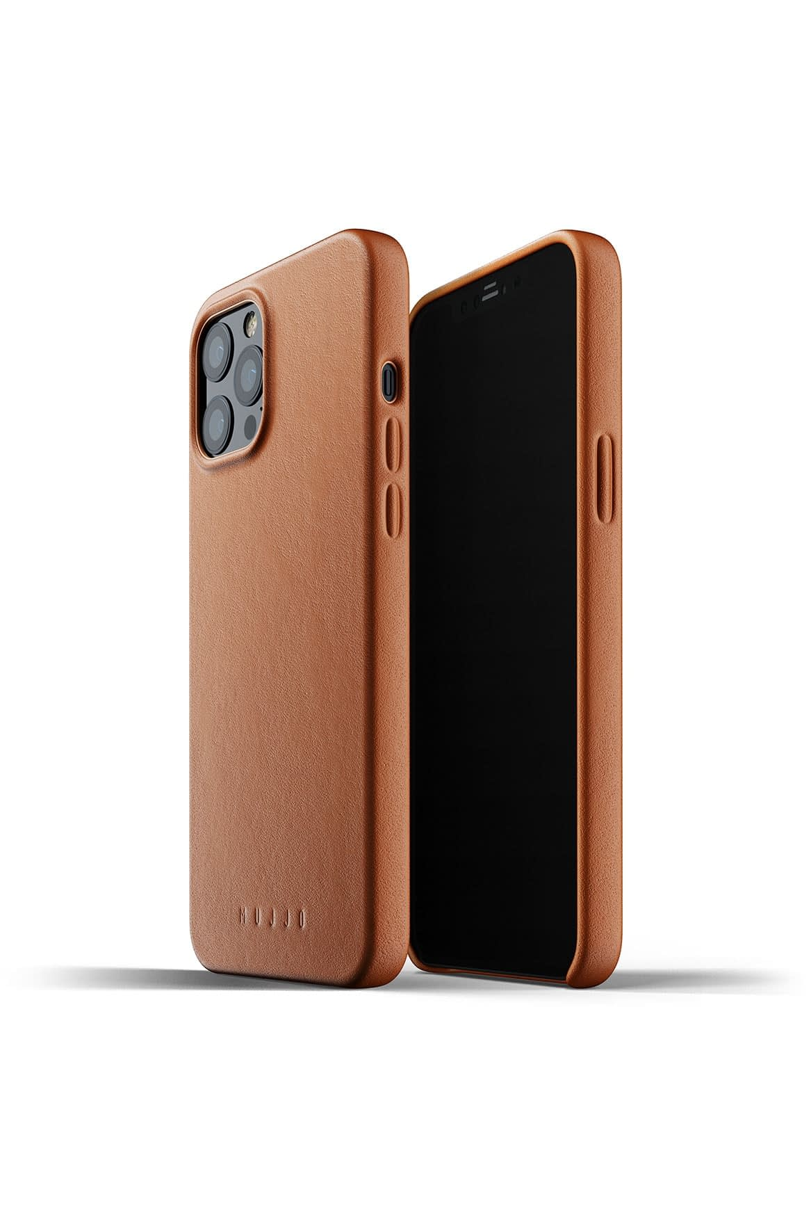 Full Leather Case for iPhone 12 Pro Max Tan Packshot 01