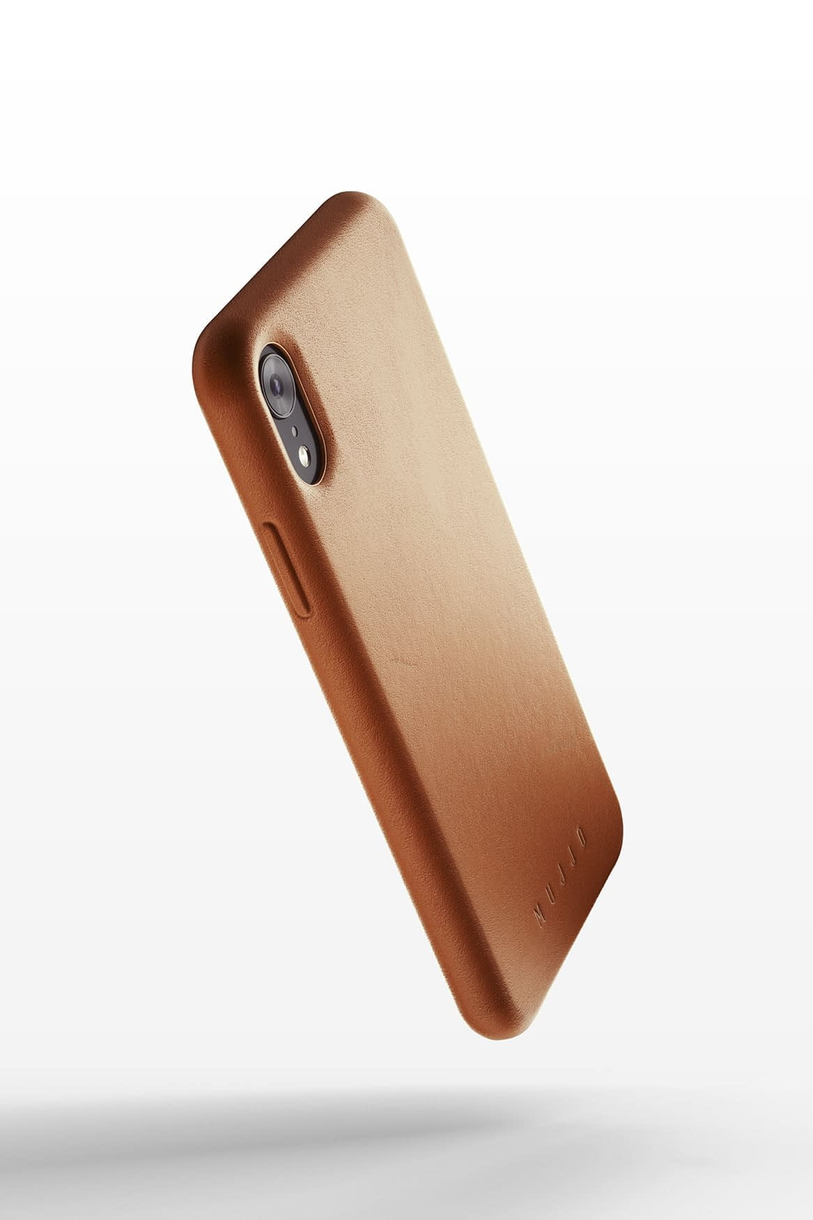 Full leather case for iPhone Xr Tan 01