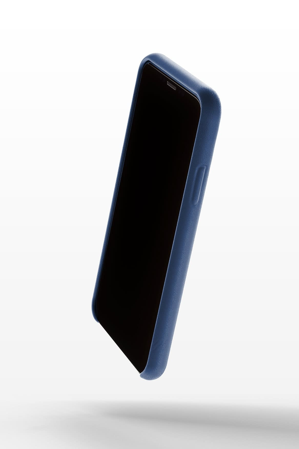 Full leather case for iPhone Xs Blue 04