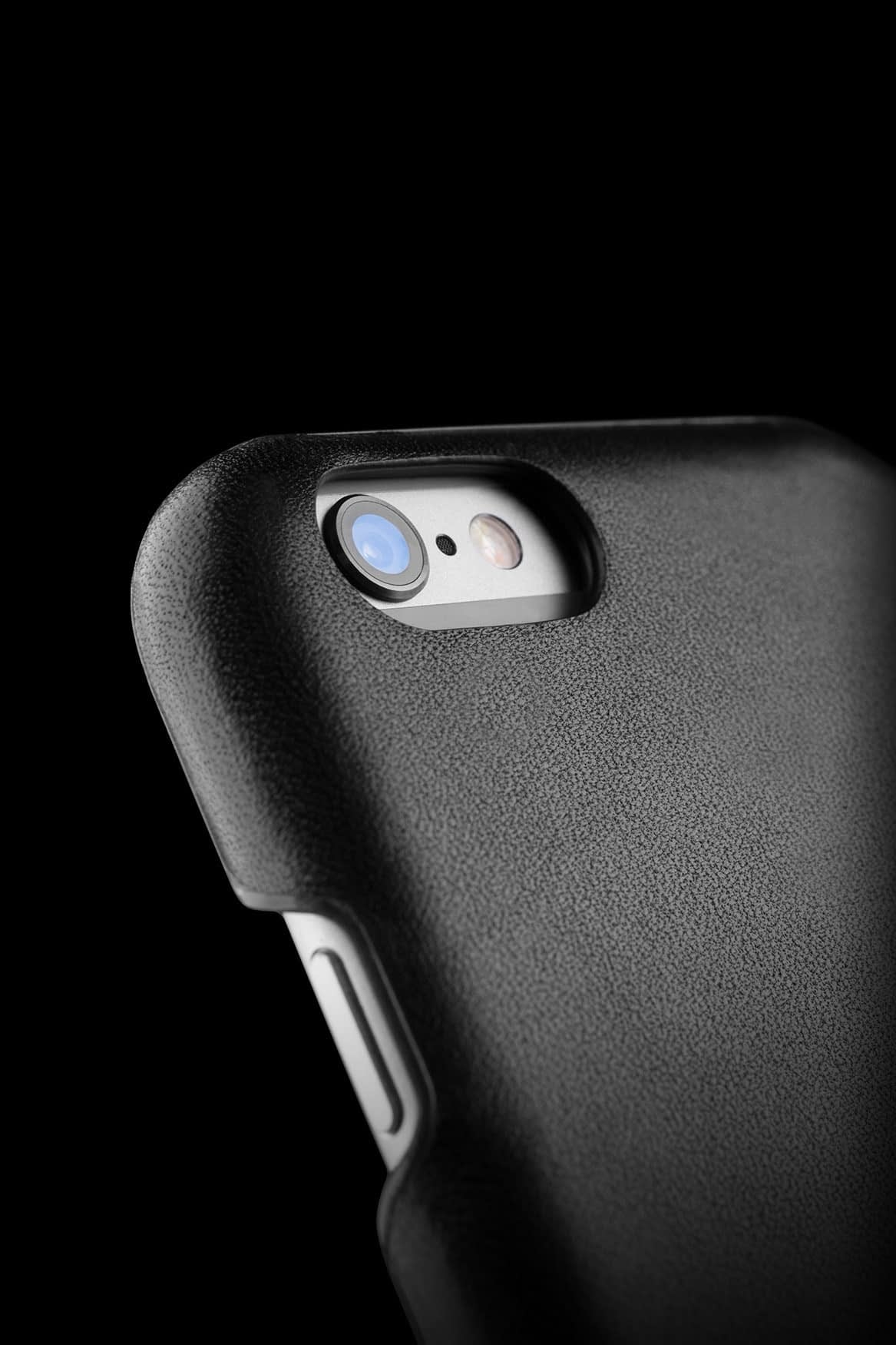 Leather Case for iPhone 6s Black 007