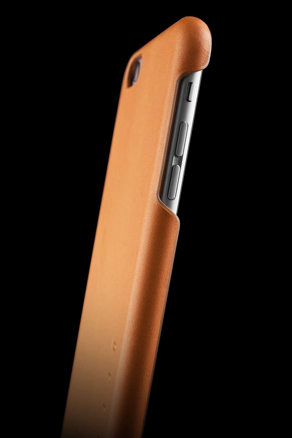 Leather Case for iPhone 6s Plus Tan 010