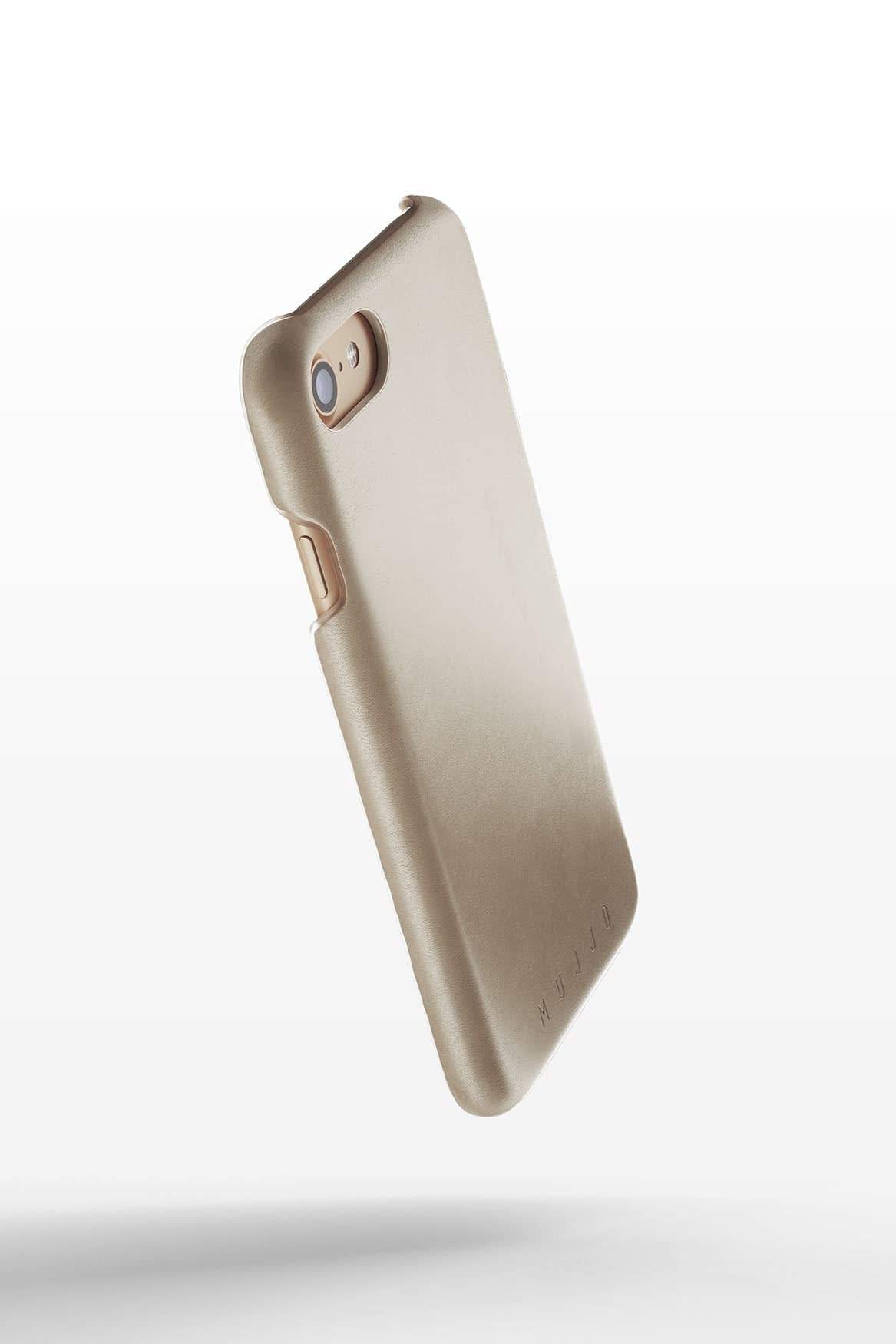 Leather Case for iPhone 8 Champagne 3