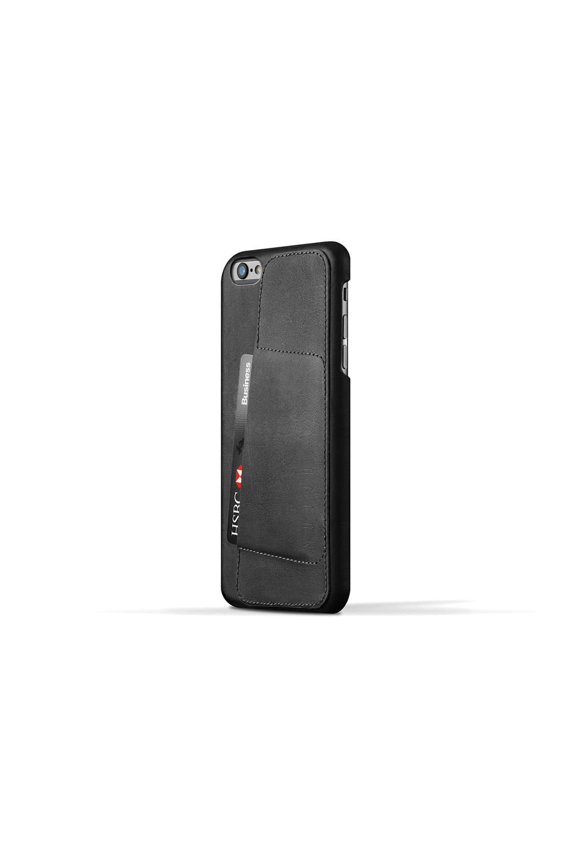 Leather Wallet Case 80° for iPhone 6 Plus Black 003