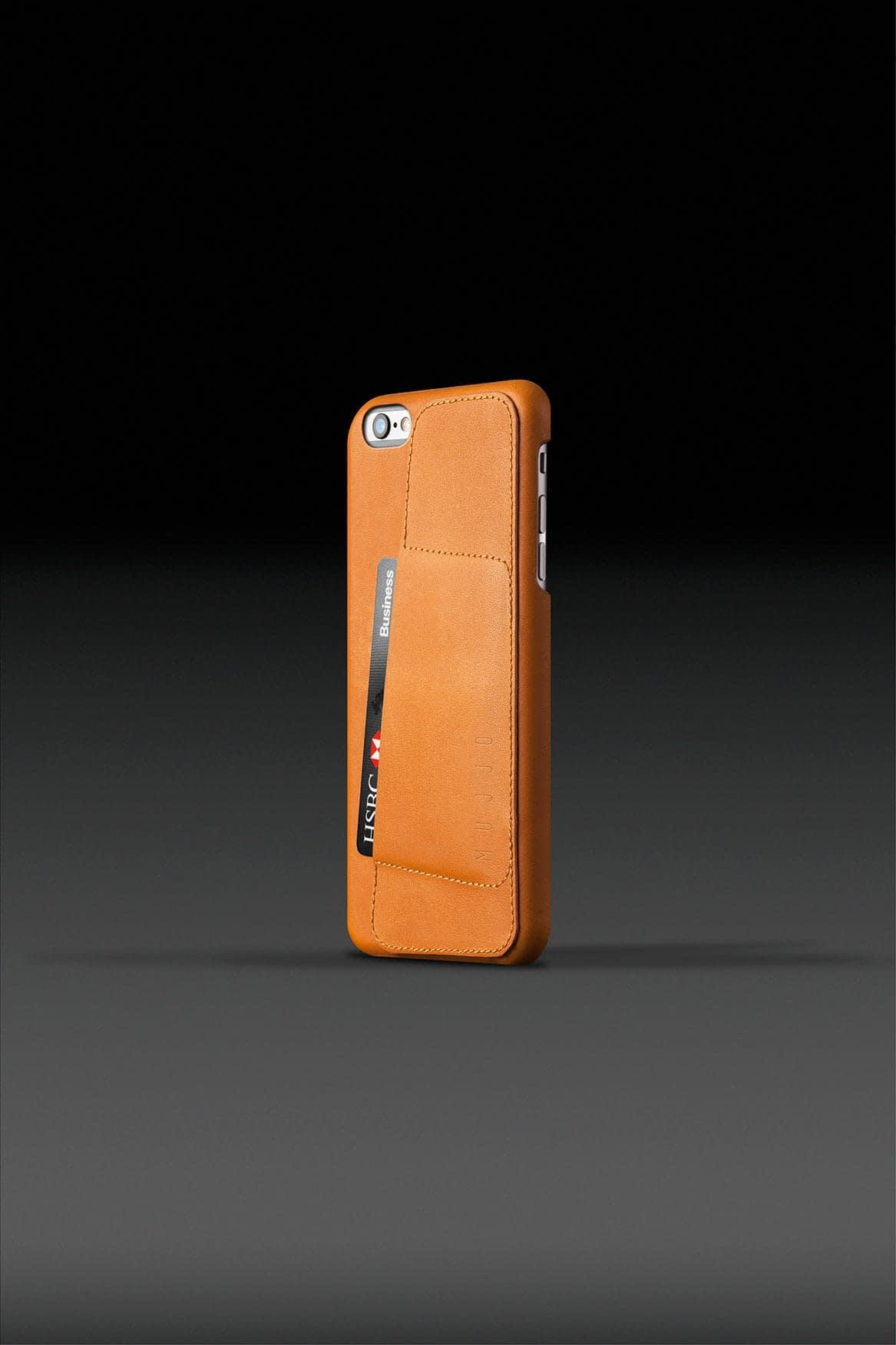 Leather Wallet Case 80° for iPhone 6 Plus Tan 002