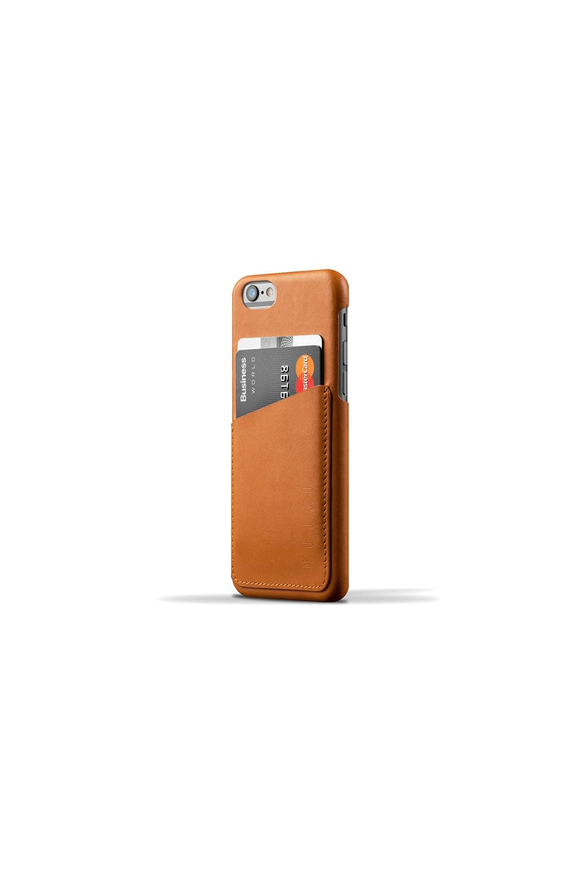 Leather Wallet Case for iPhone 6 Tan 003