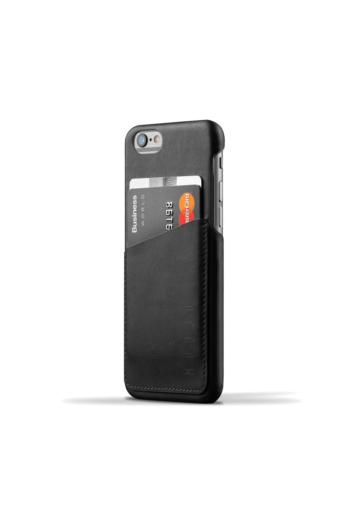 Leather Wallet Case for iPhone 6s Black 001
