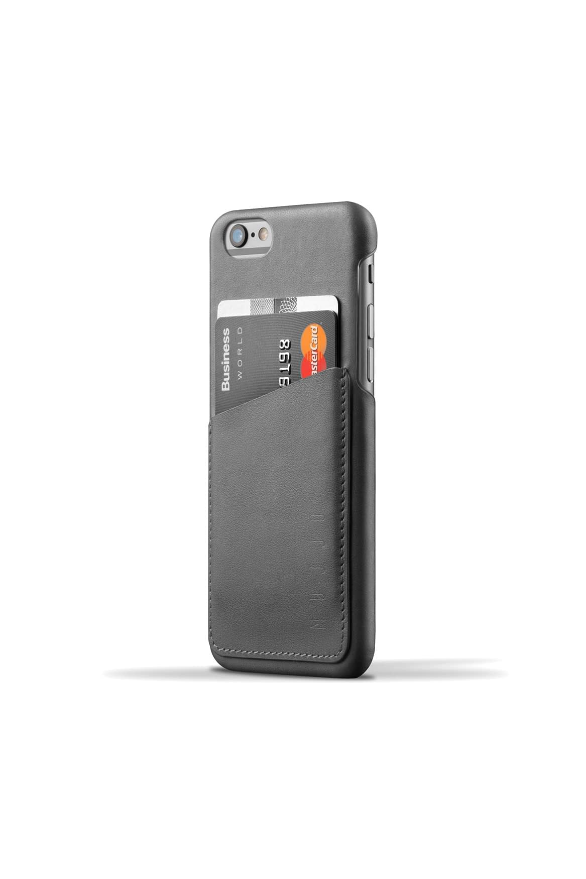 Leather Wallet Case for iPhone 6s Gray 001