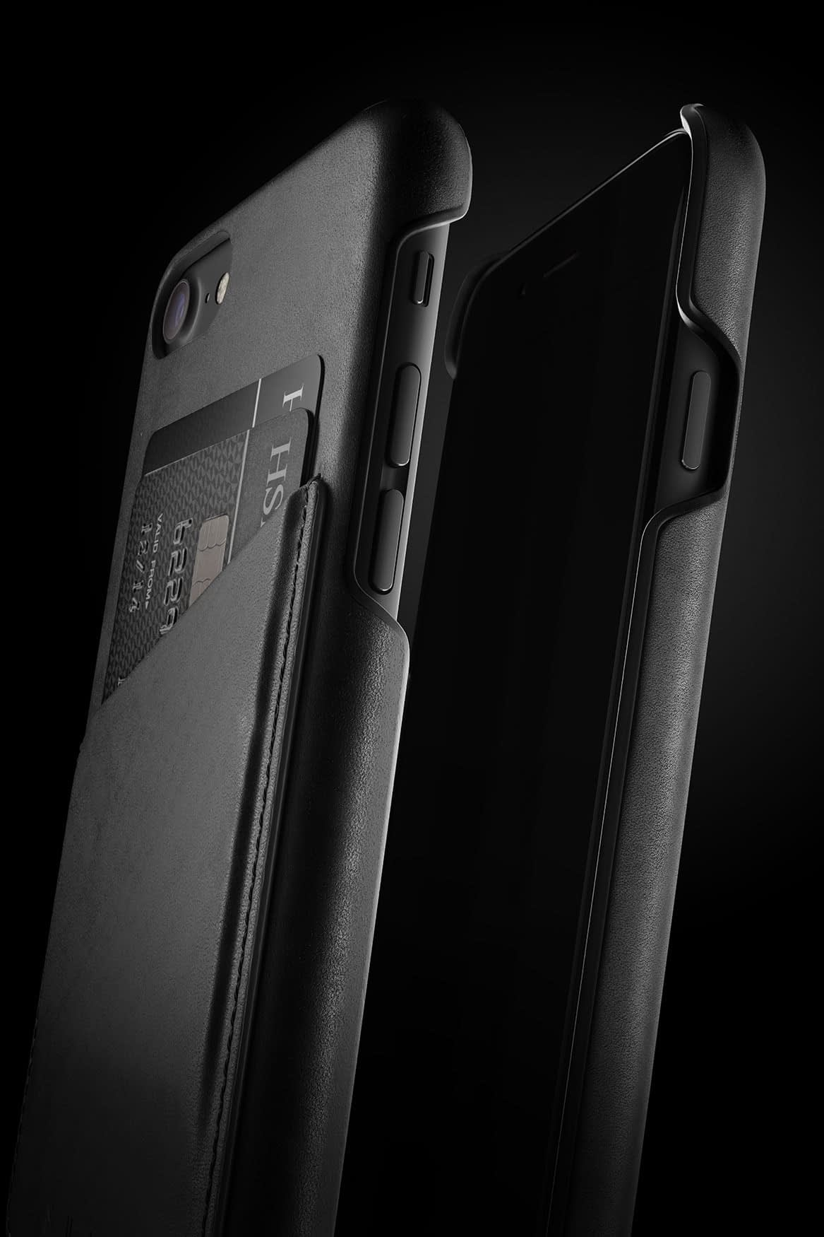 Leather Wallet Case for iPhone 7 Black 007