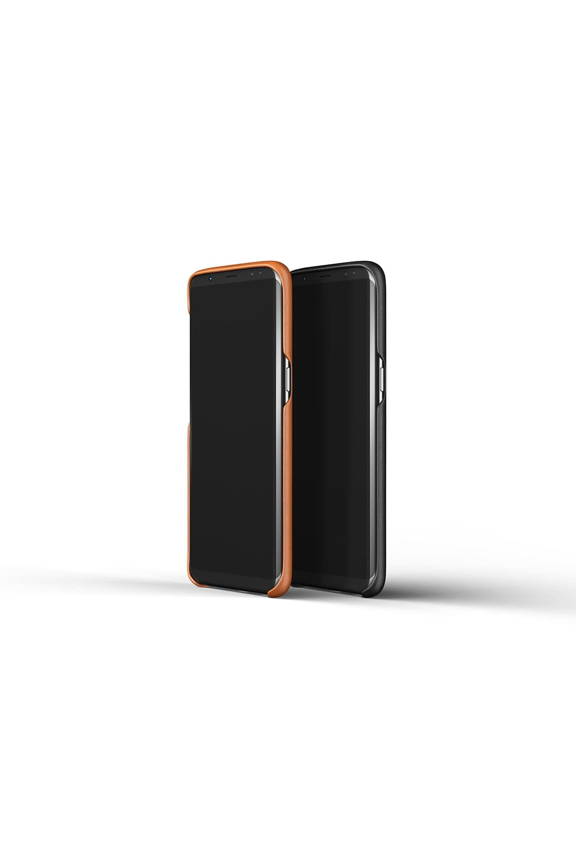 Leather case for Galaxy S8 Saddle Tan Line up 2