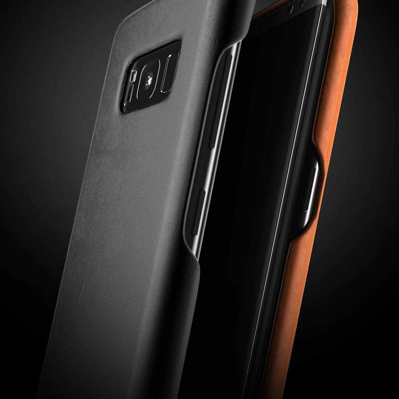 Leather case for Galaxy S8 Black