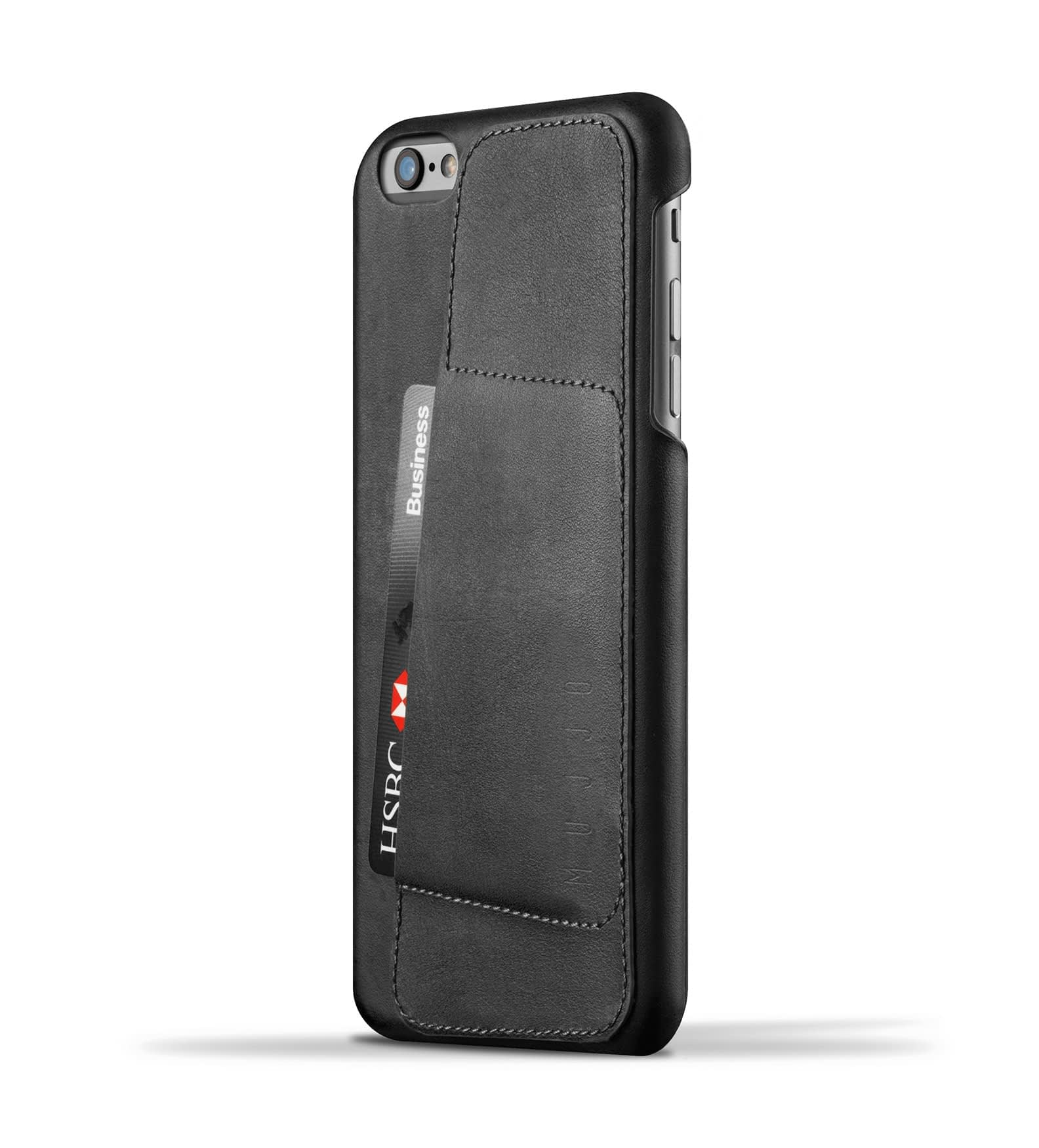 leather wallet case 80 for iphone 6s plus black