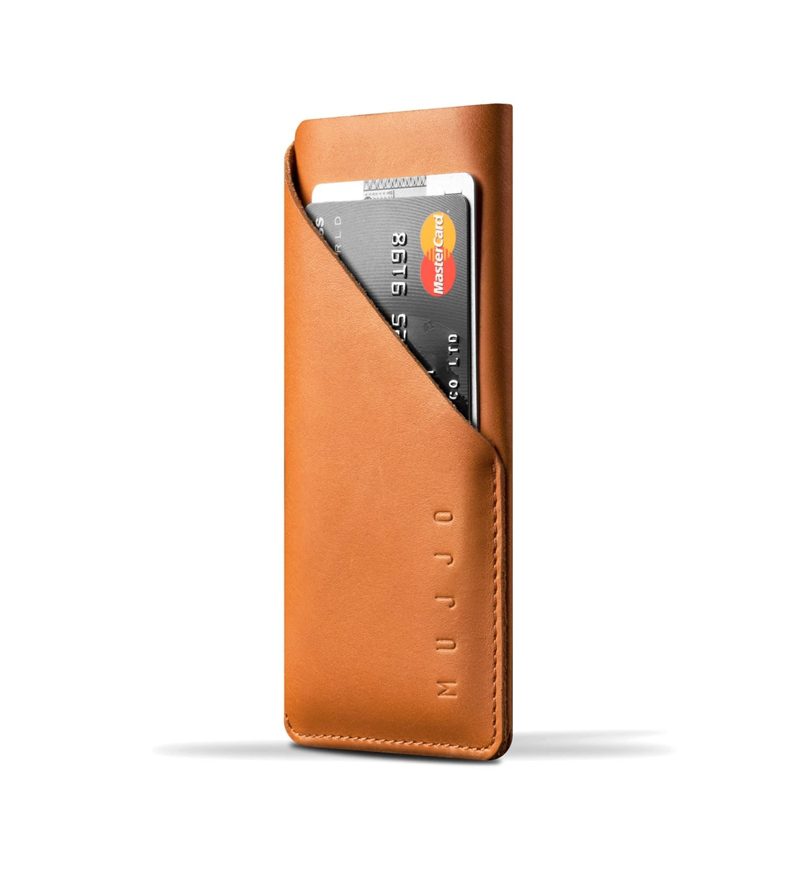 leather wallet sleeve for iphone 6 tan 001
