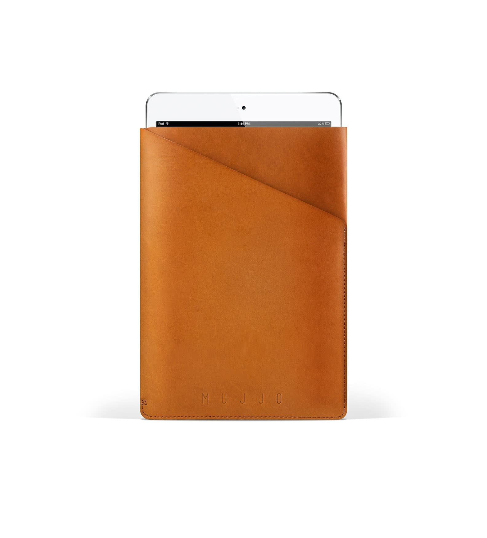 slim fit ipad mini sleeve   tan   studio 001