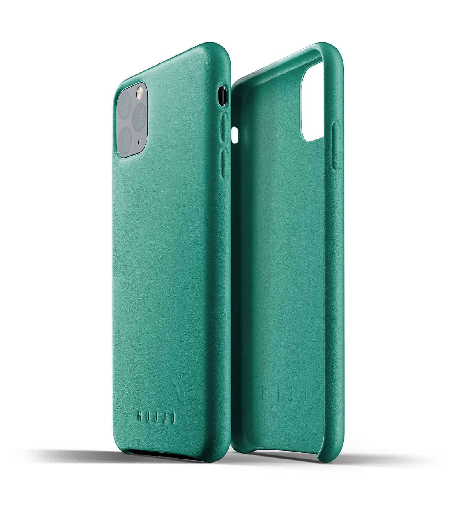 Full leather case for iPhone 11 Pro Max Alpine Green Thumbnail 02