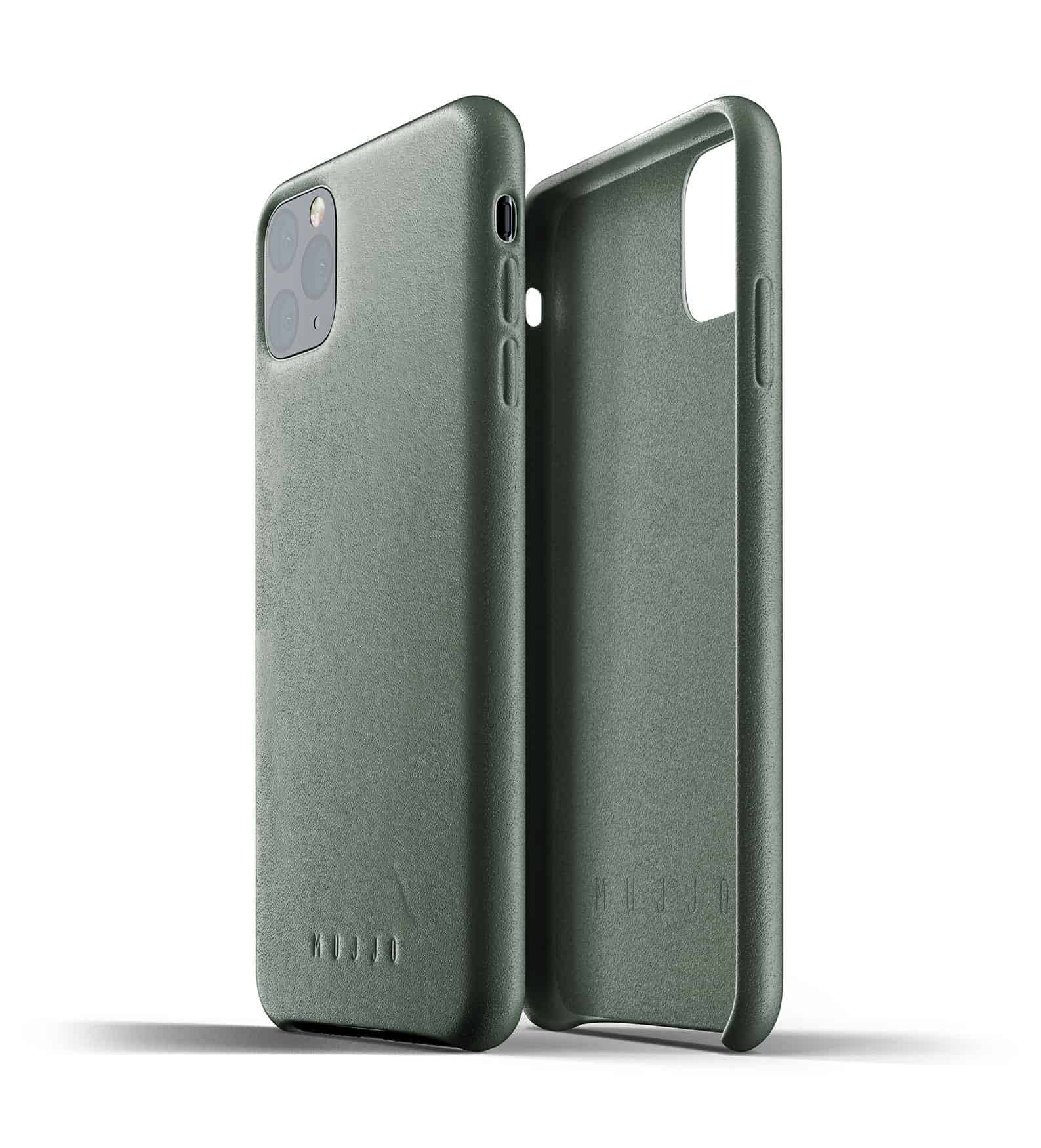 Full leather case for iPhone 11 Pro Max Slate Green Thumbnail 02