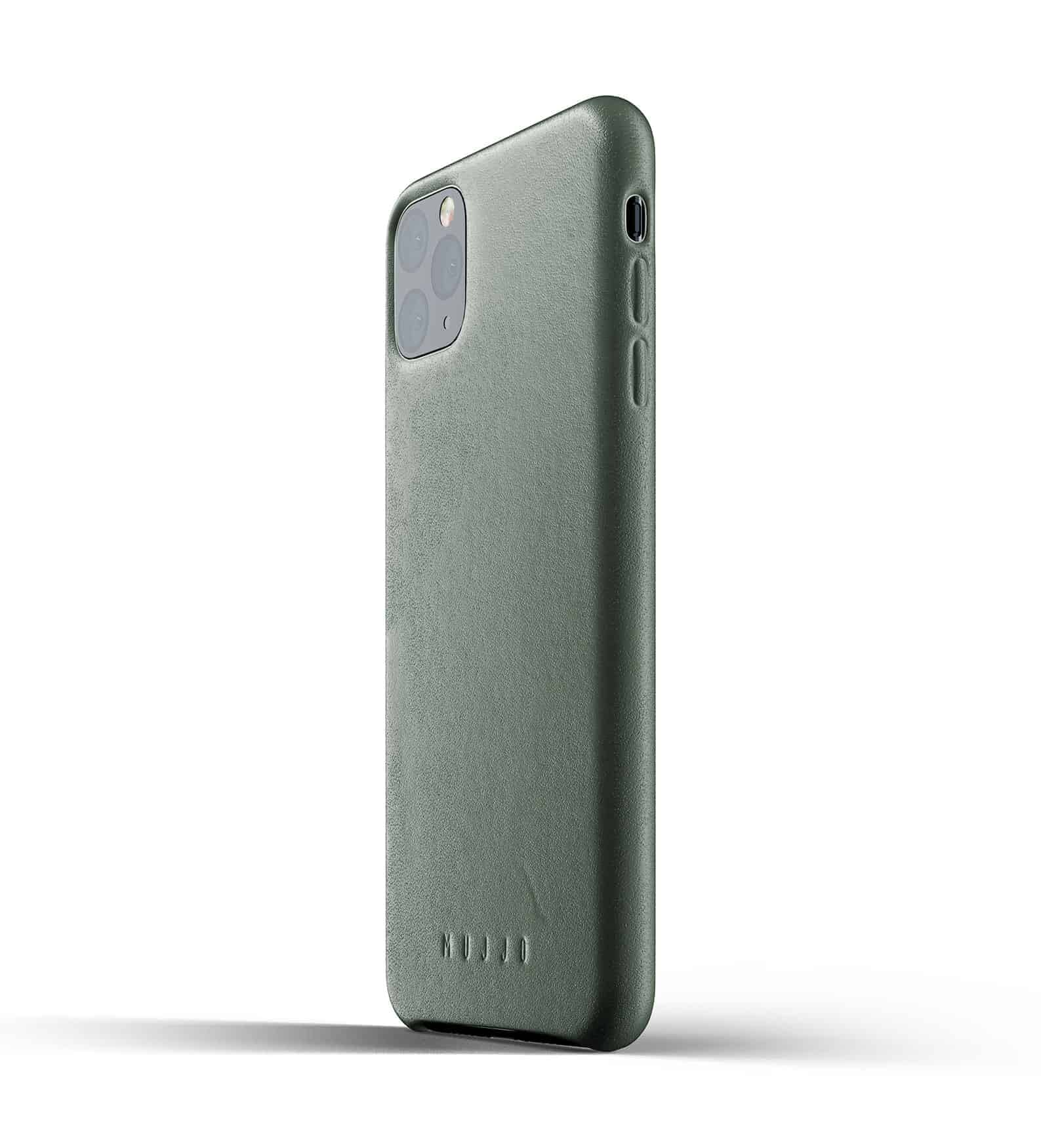 Full leather case for iPhone 11 Pro Max Slate Green Thumbnail 03