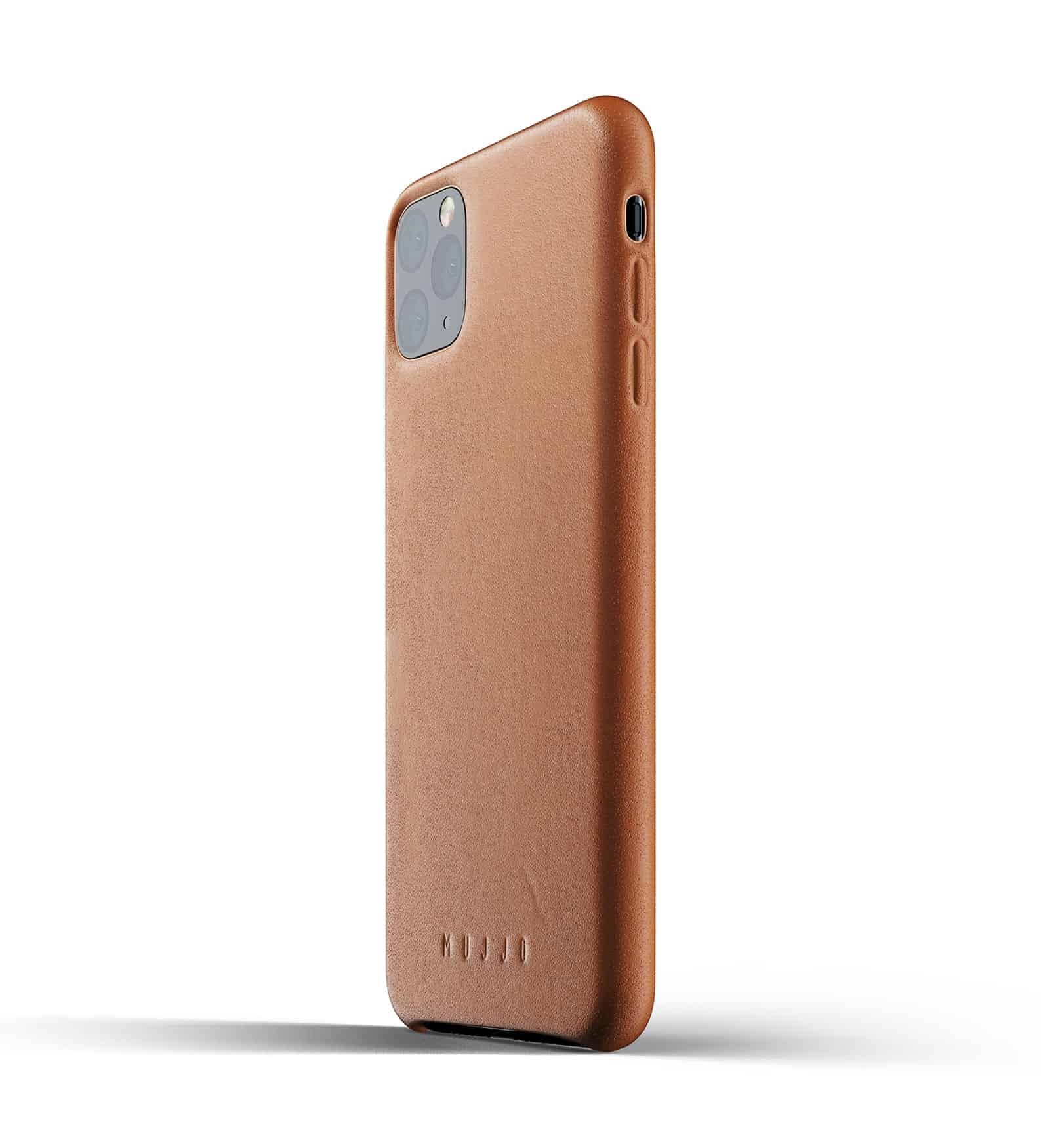 Full leather case for iPhone 11 Pro Max Tan Thumbnail 03