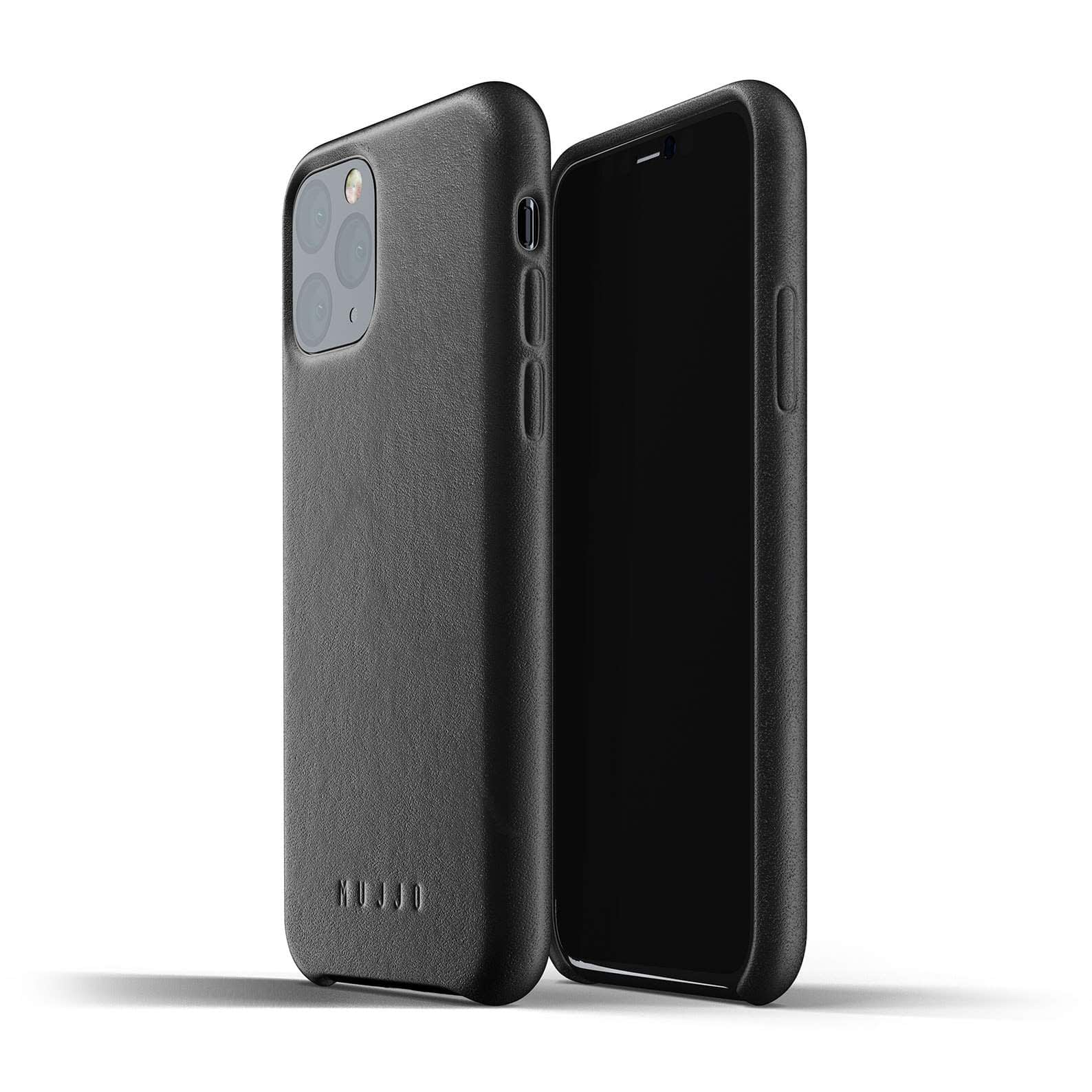 Full leather case for iPhone 11 Pro Black Thumbnail 01