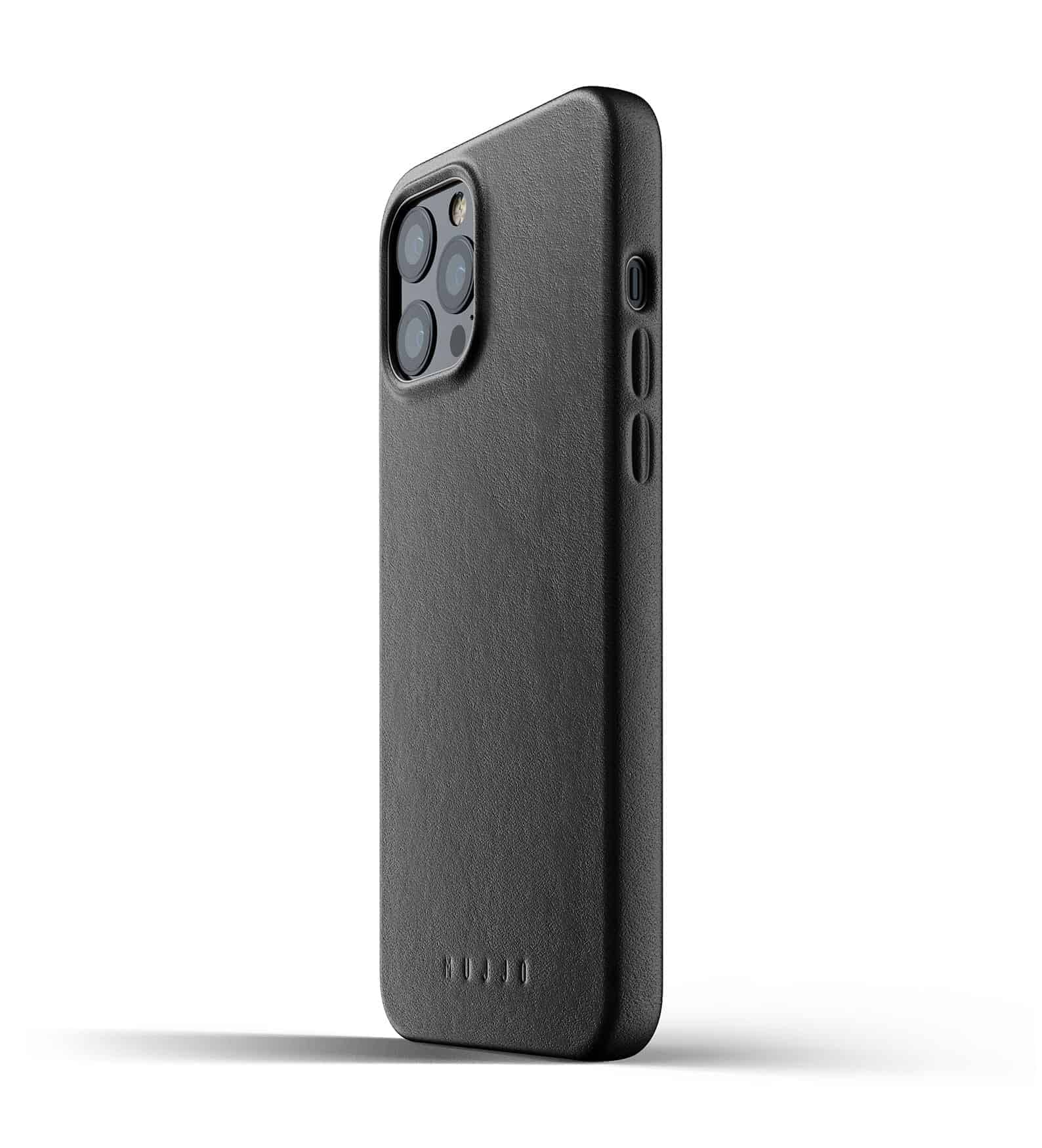 Full Leather Case for iPhone 12 Pro Max Black Thumbnail 03