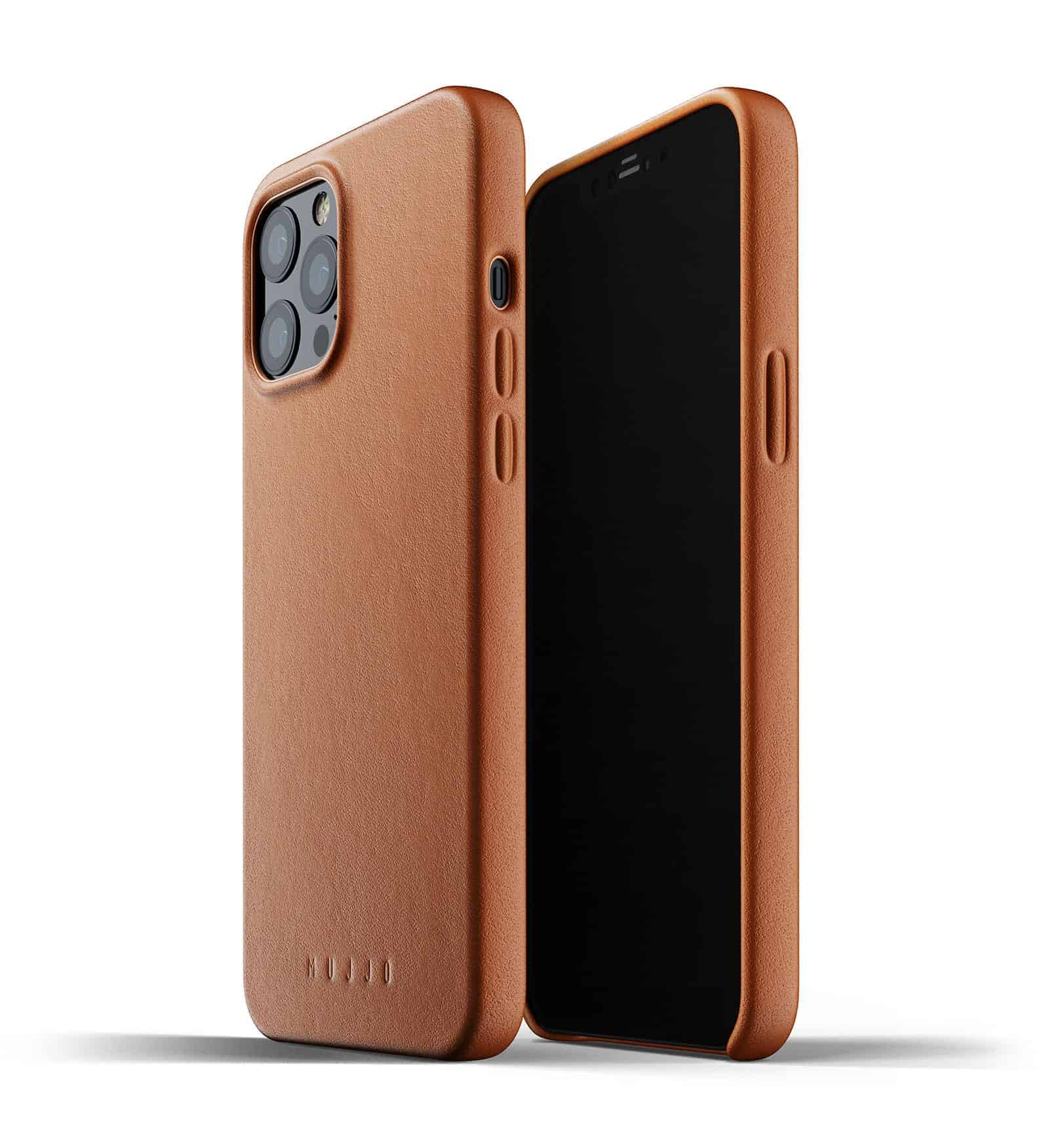 Full Leather Case for iPhone 12 Pro Max Tan Thumbnail 01