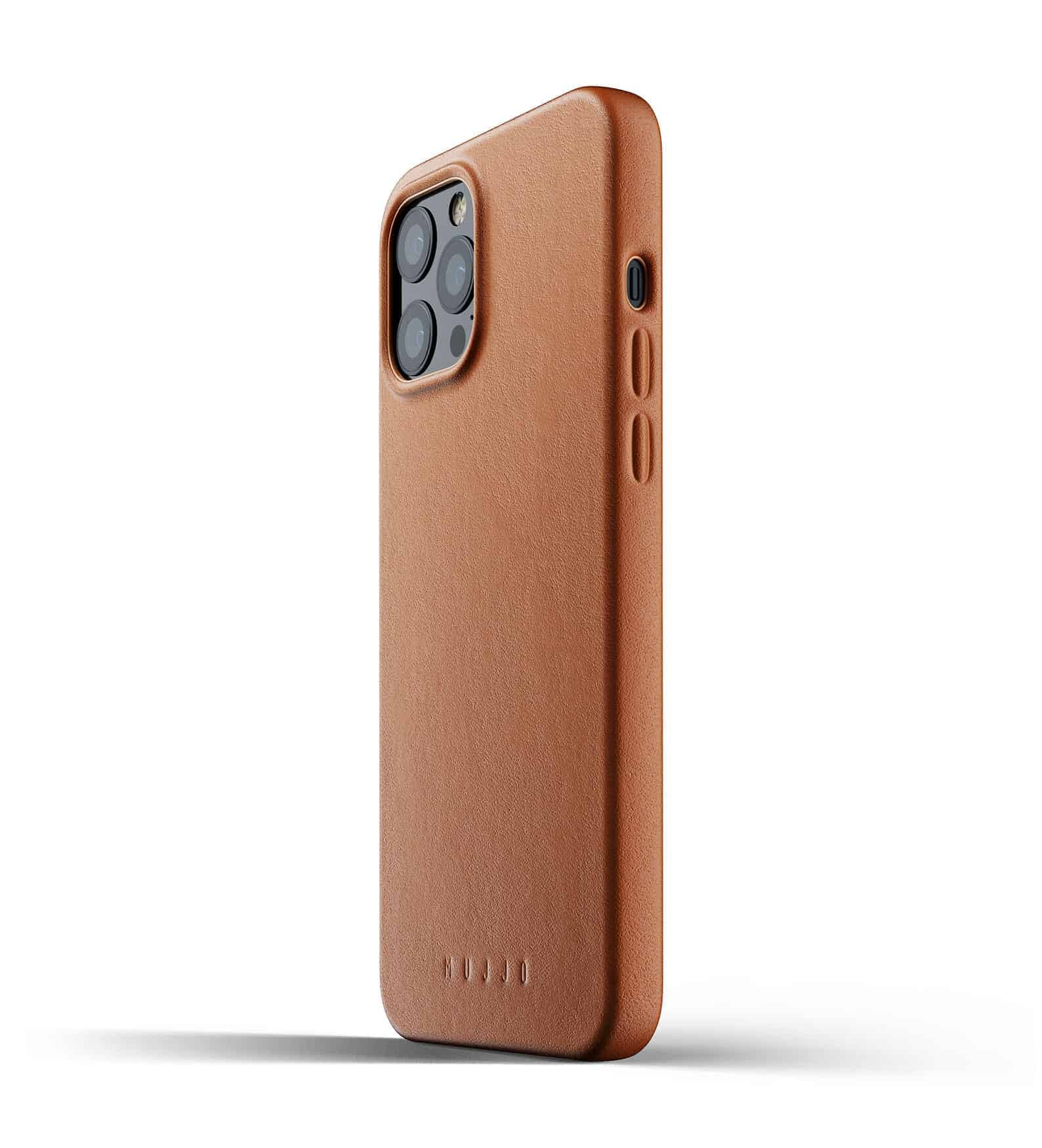 Full Leather Case for iPhone 12 Pro Max Tan Thumbnail 03