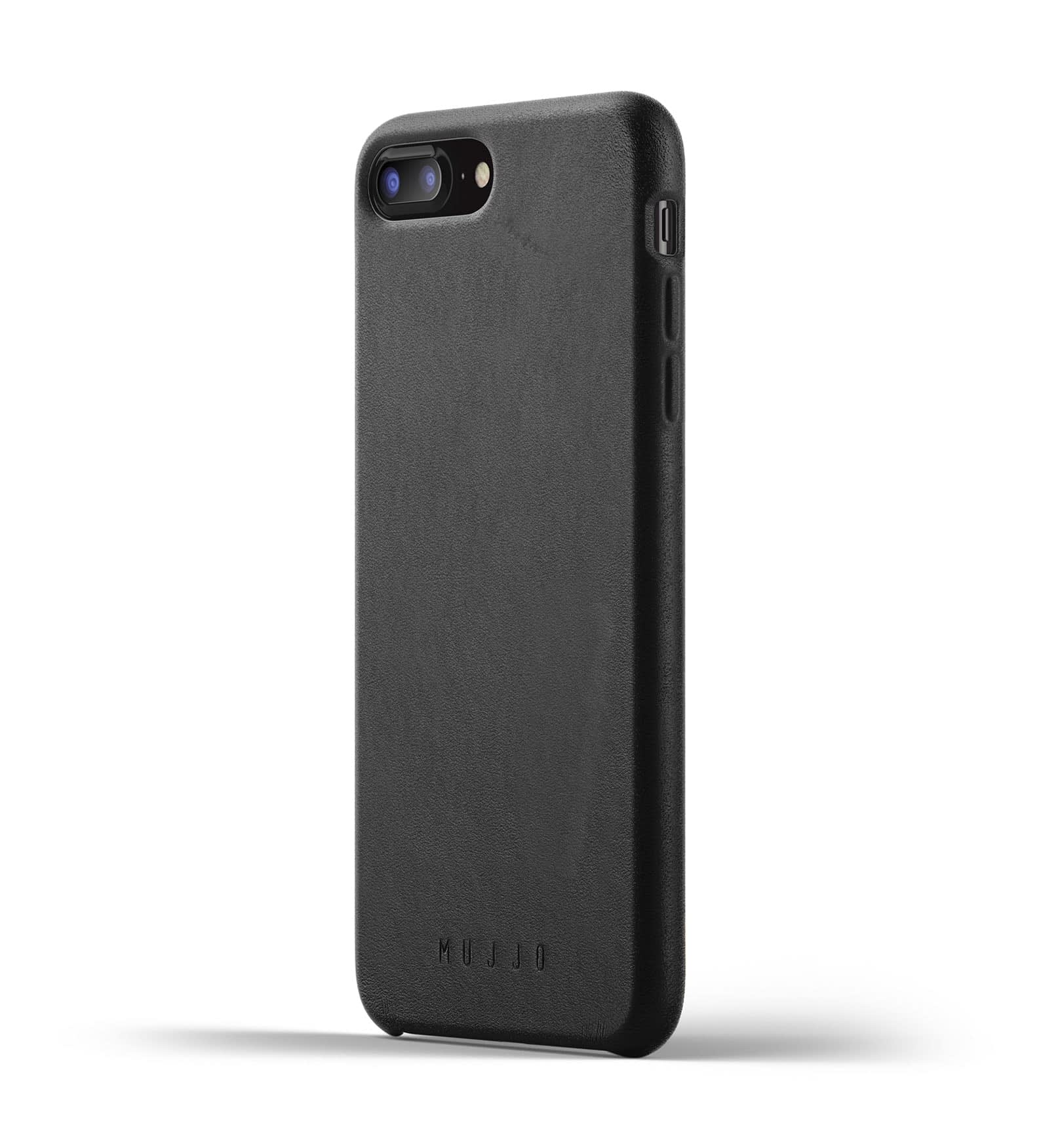 Full Leather Case for iPhone 8 Plus 7 Plus Black Thumbnail 1