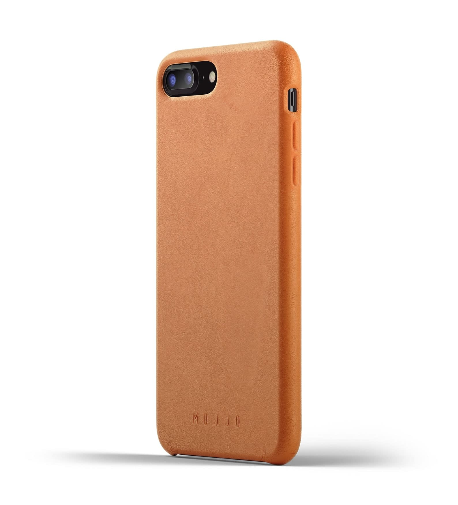 Full Leather Case for iPhone 8 Plus 7 Plus Tan Thumbnail 1
