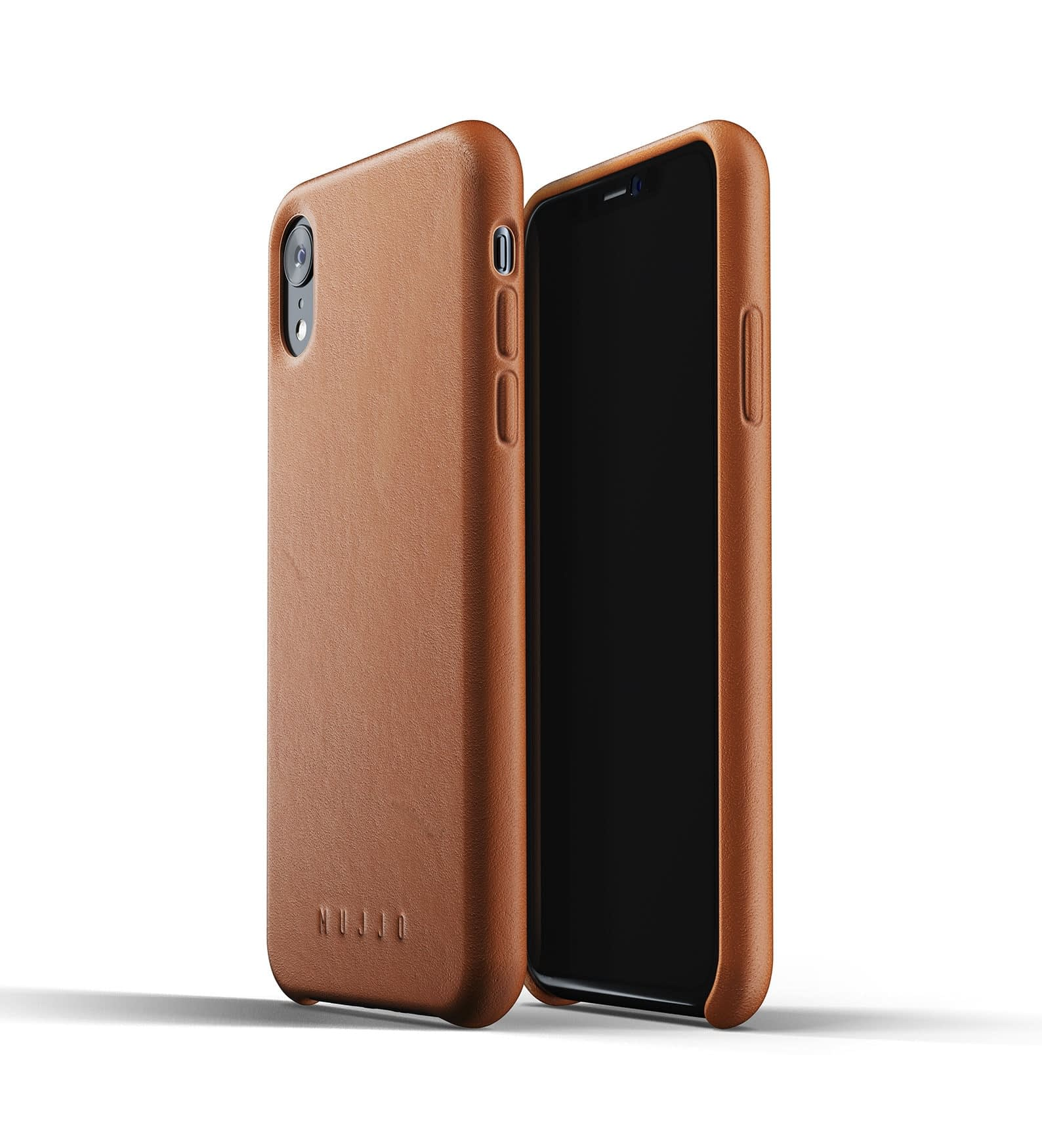 Full Leather Case for iPhone Xr Tan Thumbnail 03