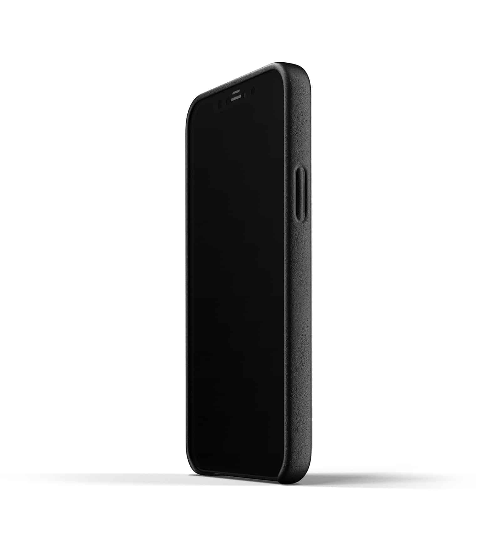 Full Leather Wallet Case for iPhone 12 Black Thumbnail 07