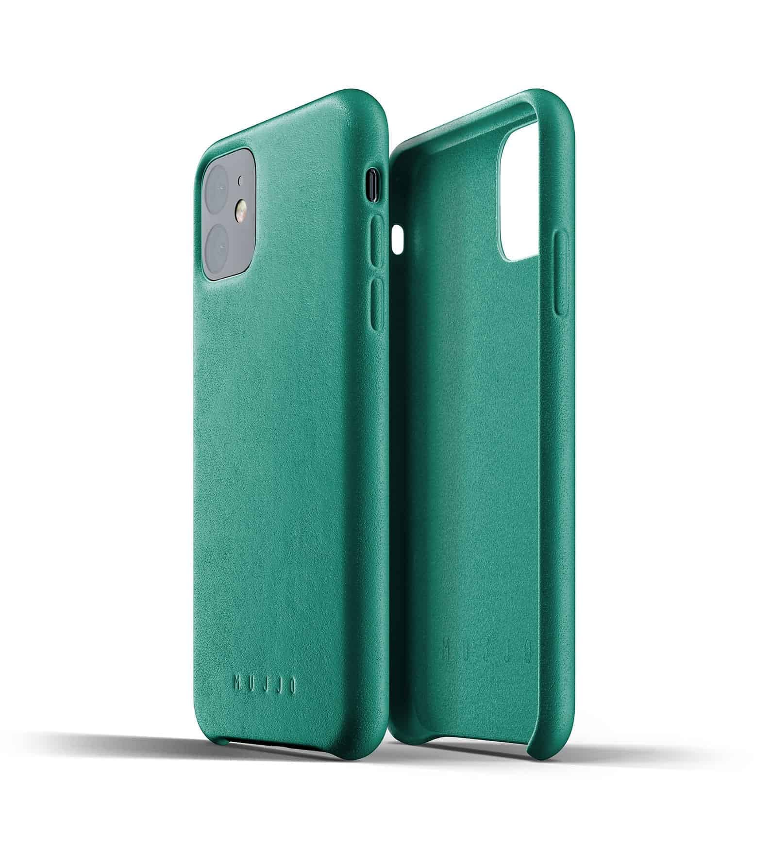 Full leather case for iPhone 11 Alpine Green Thumbnail 02