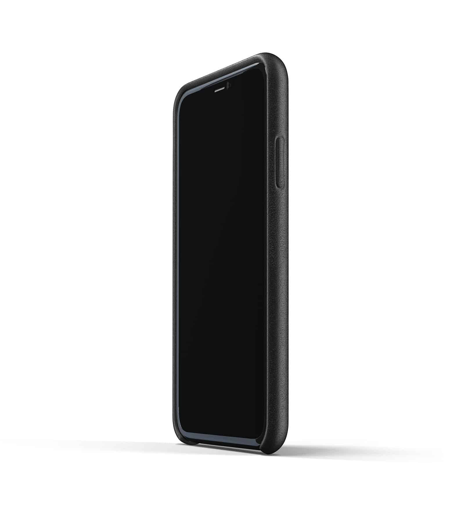 Full leather case for iPhone 11 Black Thumbnail 04