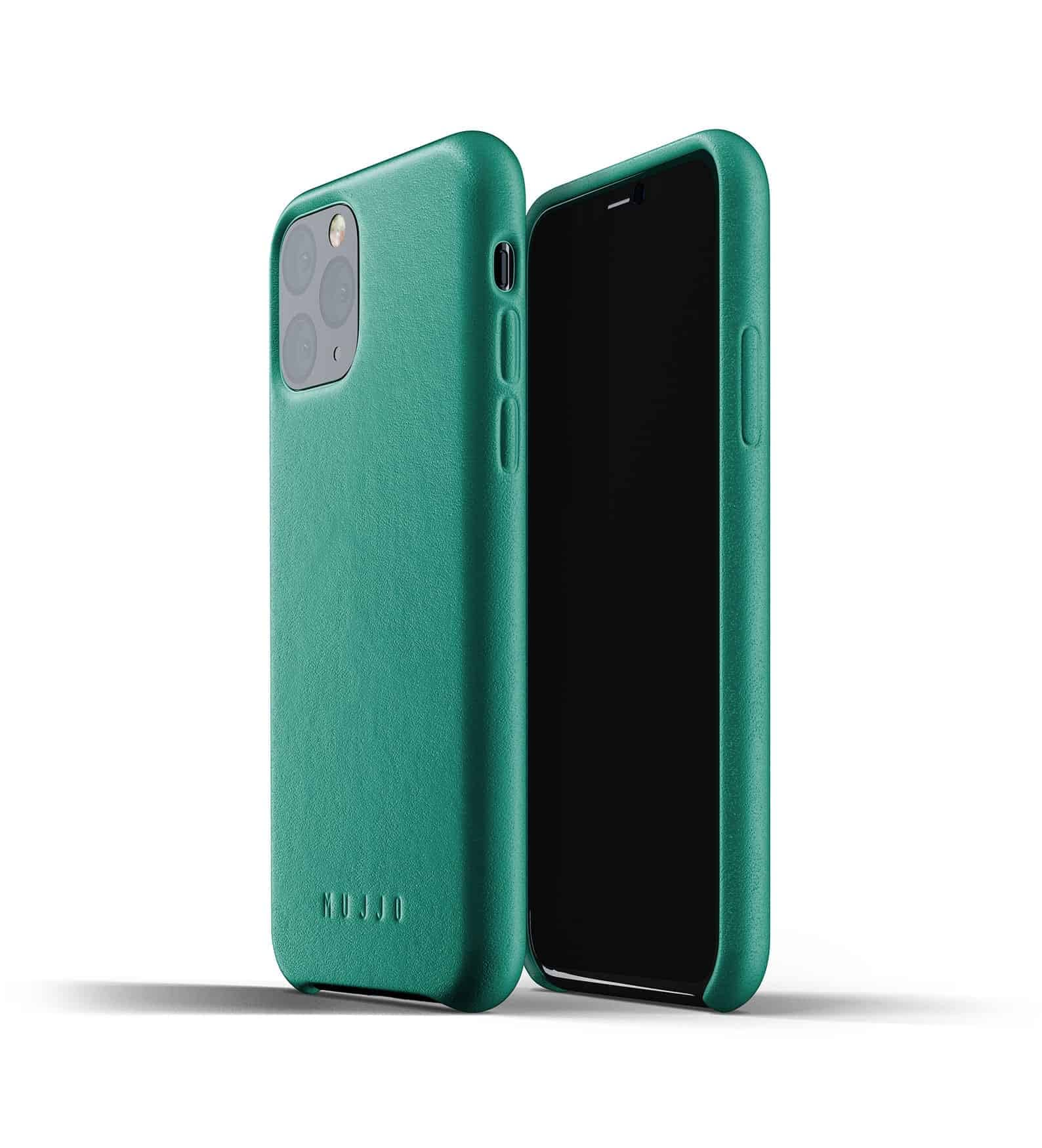 Full leather case for iPhone 11 Pro Alpine Green Thumbnail 01
