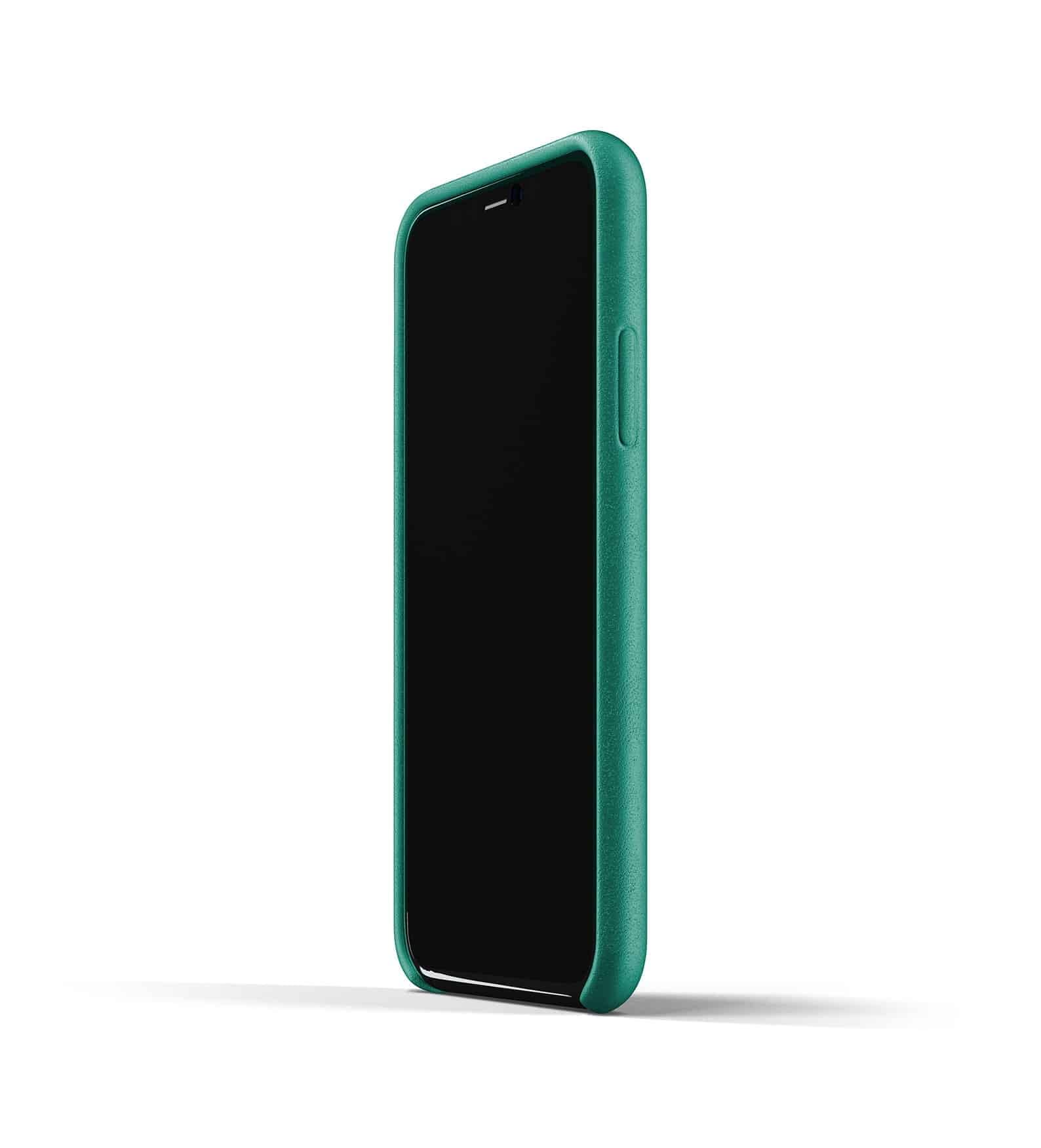 Full leather case for iPhone 11 Pro Alpine Green Thumbnail 04