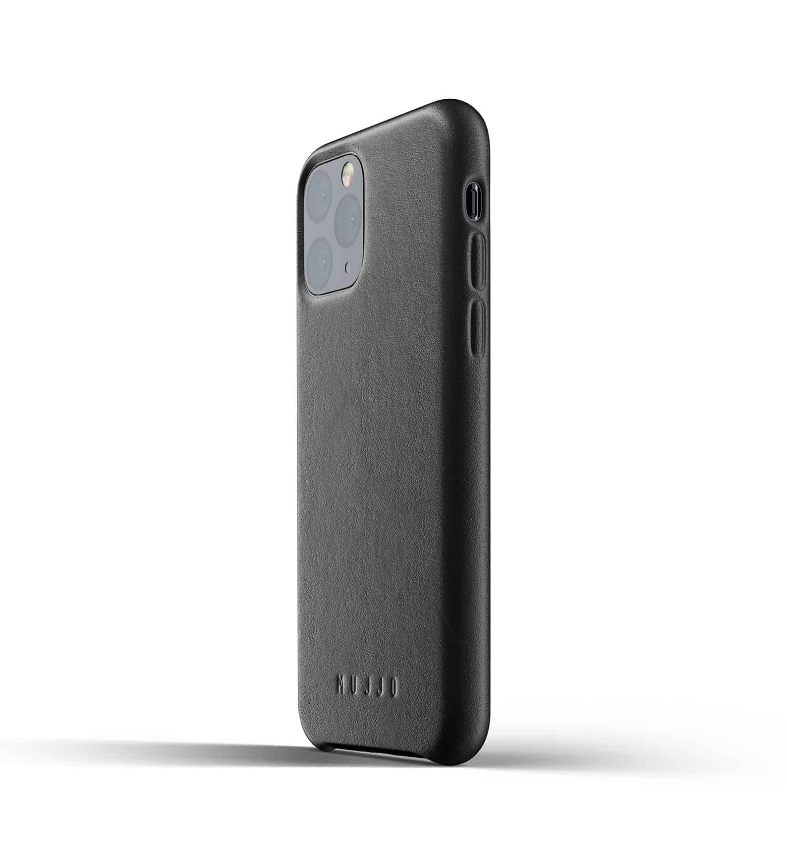 Full leather case for iPhone 11 Pro Black Thumbnail 03