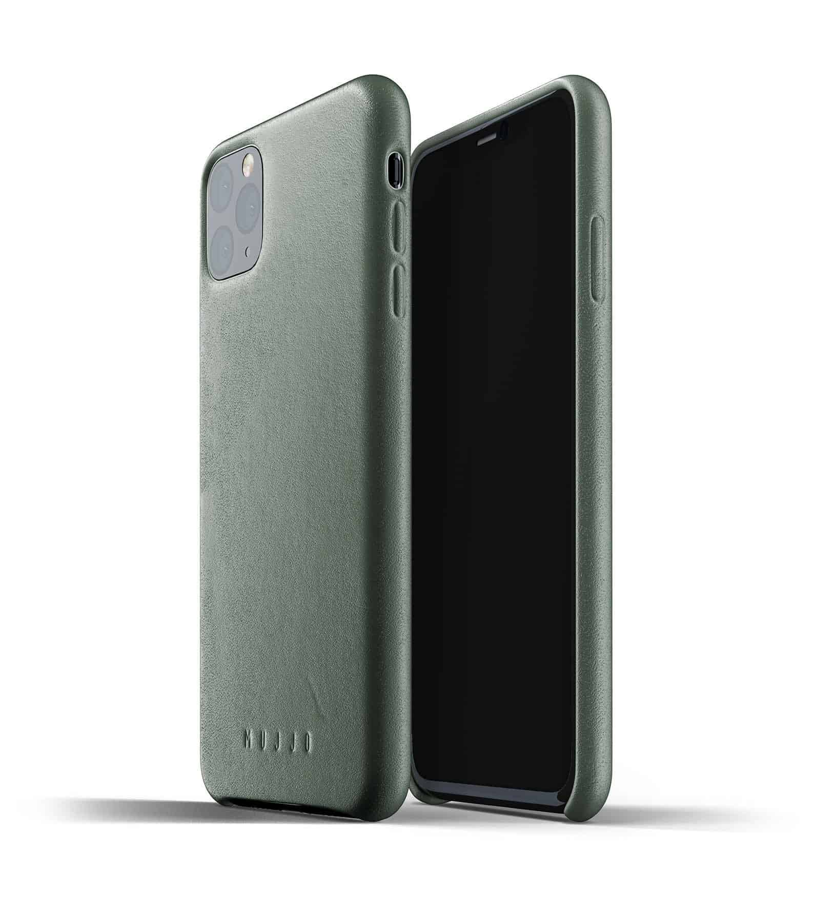 Full leather case for iPhone 11 Pro Max Slate Green Thumbnail 01