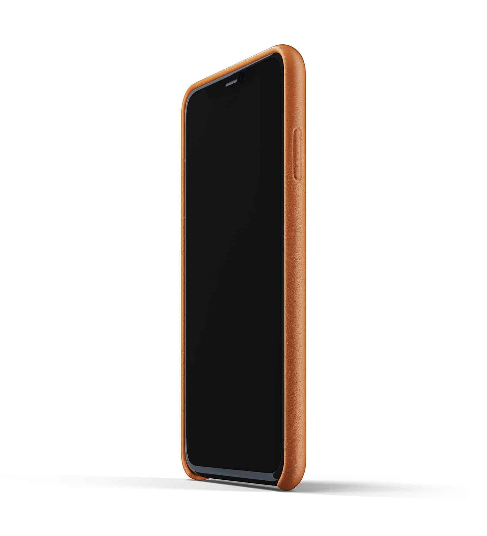 Full leather case for iPhone 11 Pro Max Tan Thumbnail 04