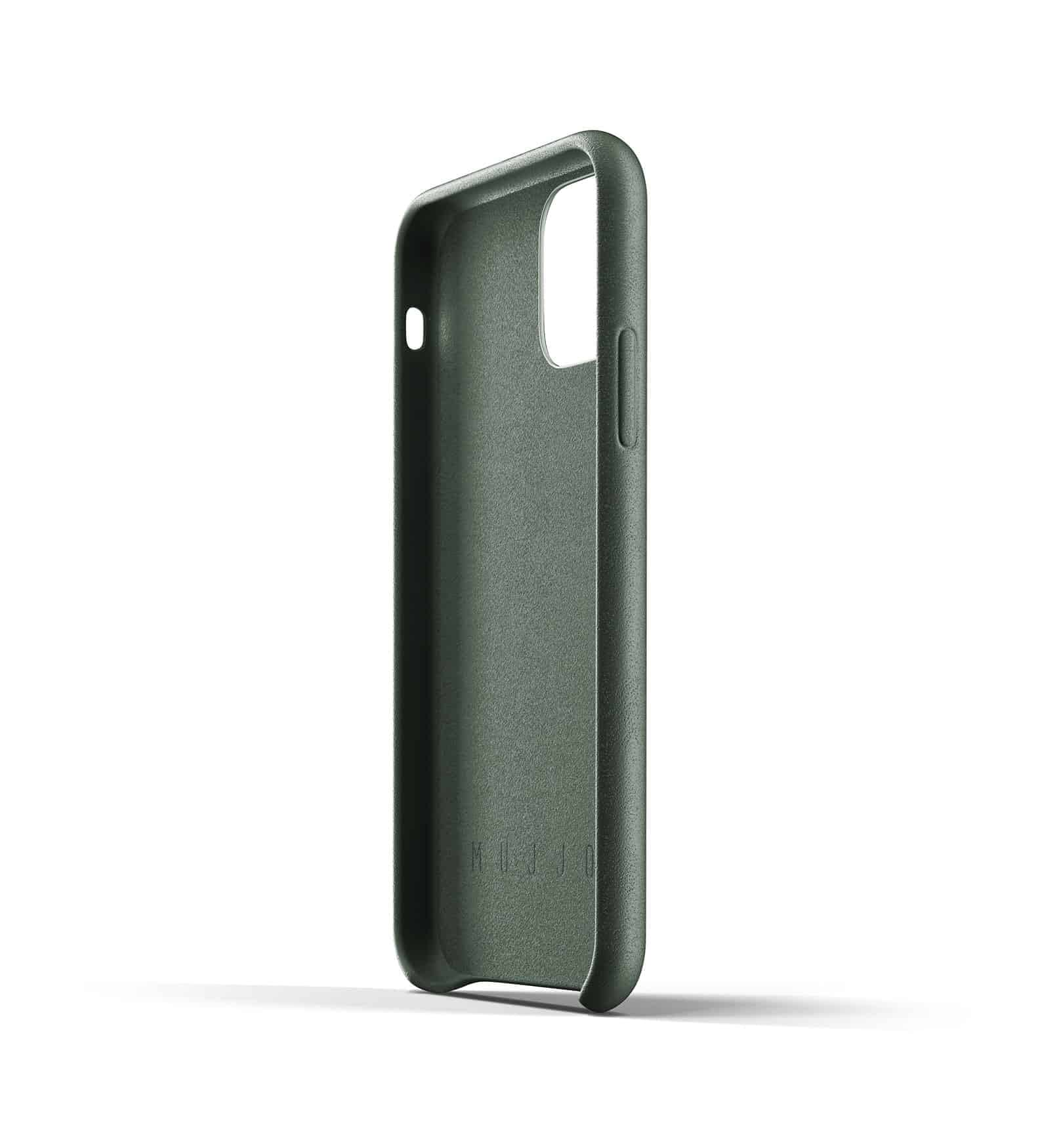 Full leather case for iPhone 11 Pro Slate Green Thumbnail 05