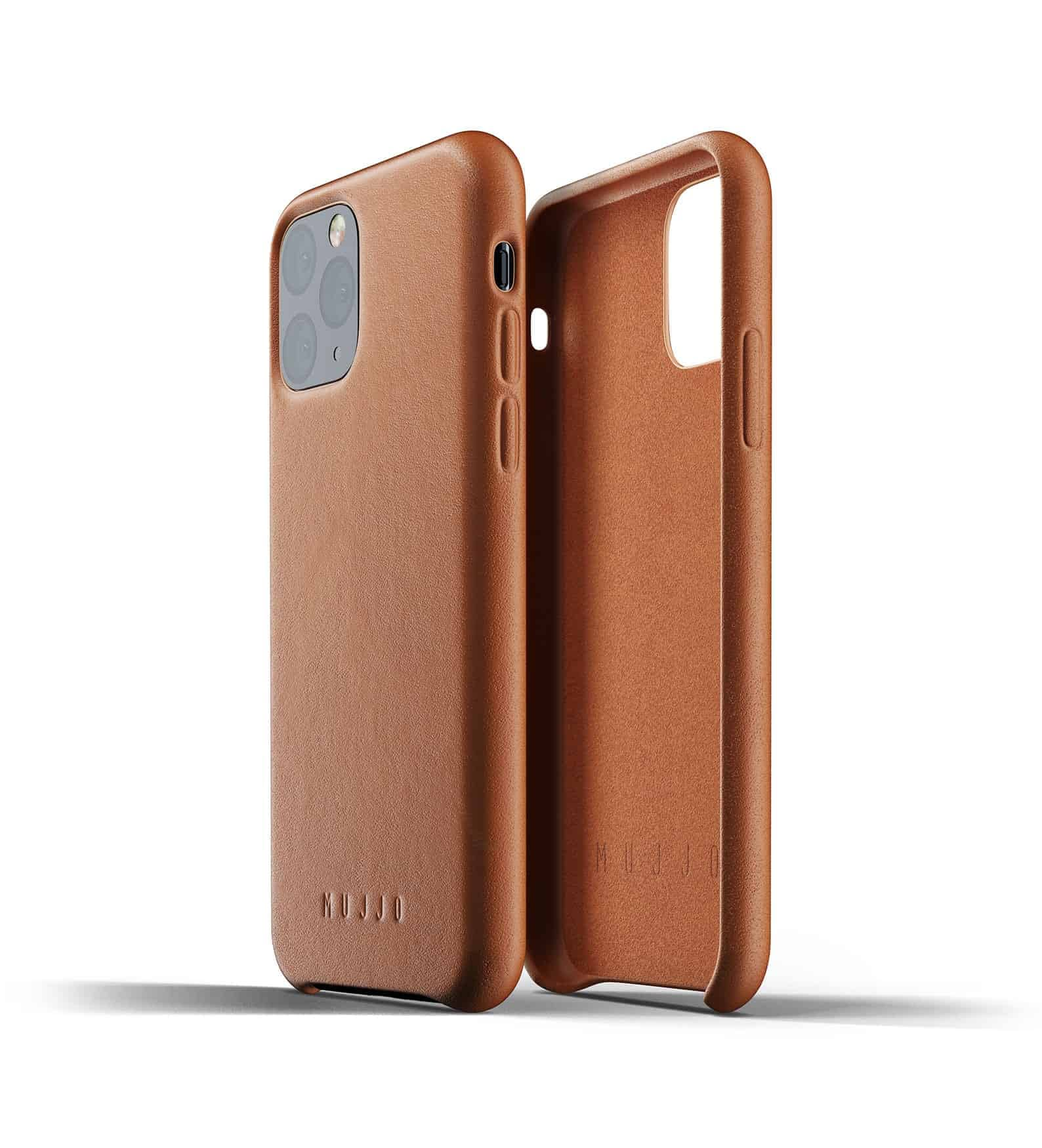 Full leather case for iPhone 11 Pro Tan Thumbnail 02