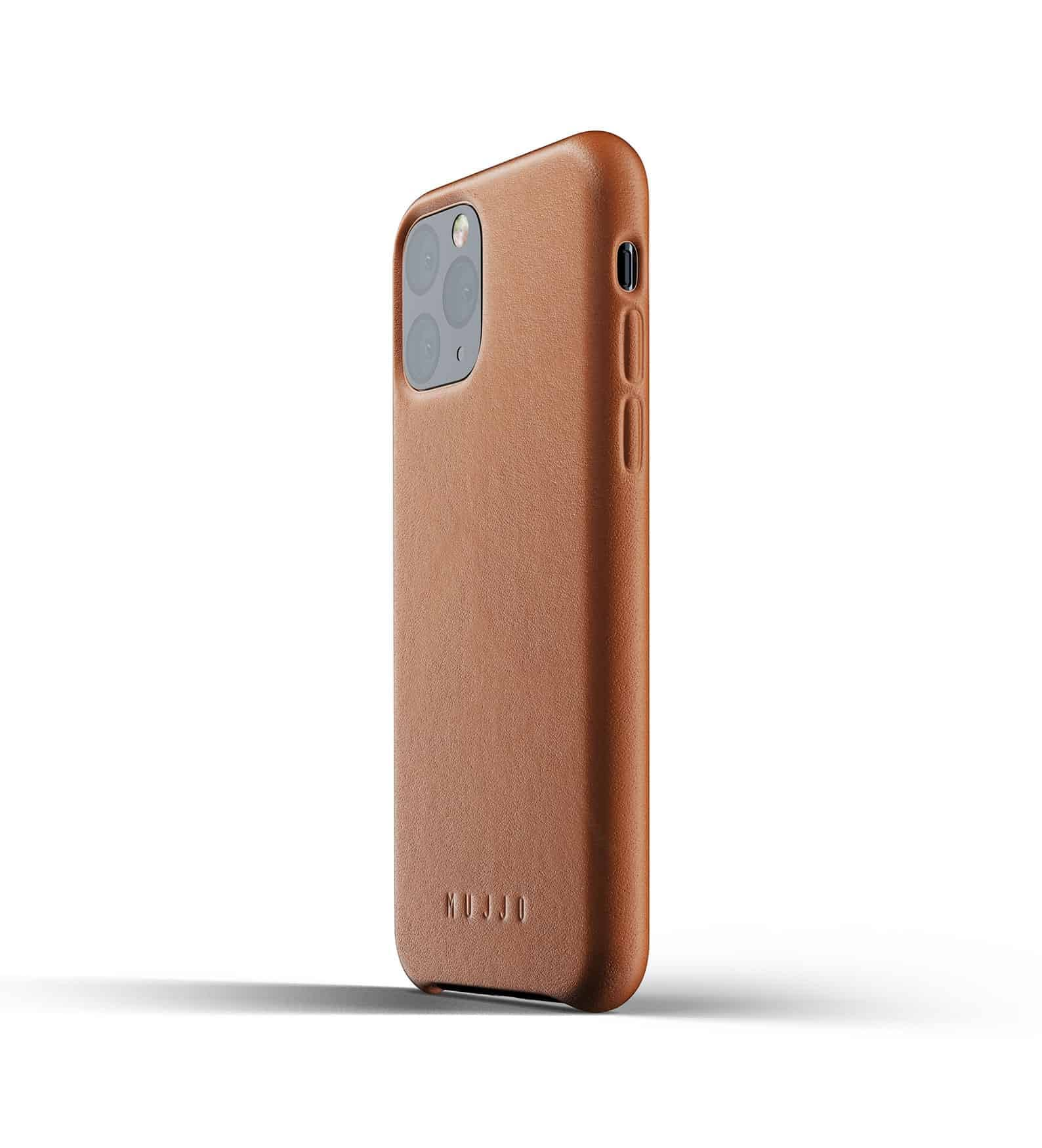 Full leather case for iPhone 11 Pro Tan Thumbnail 03