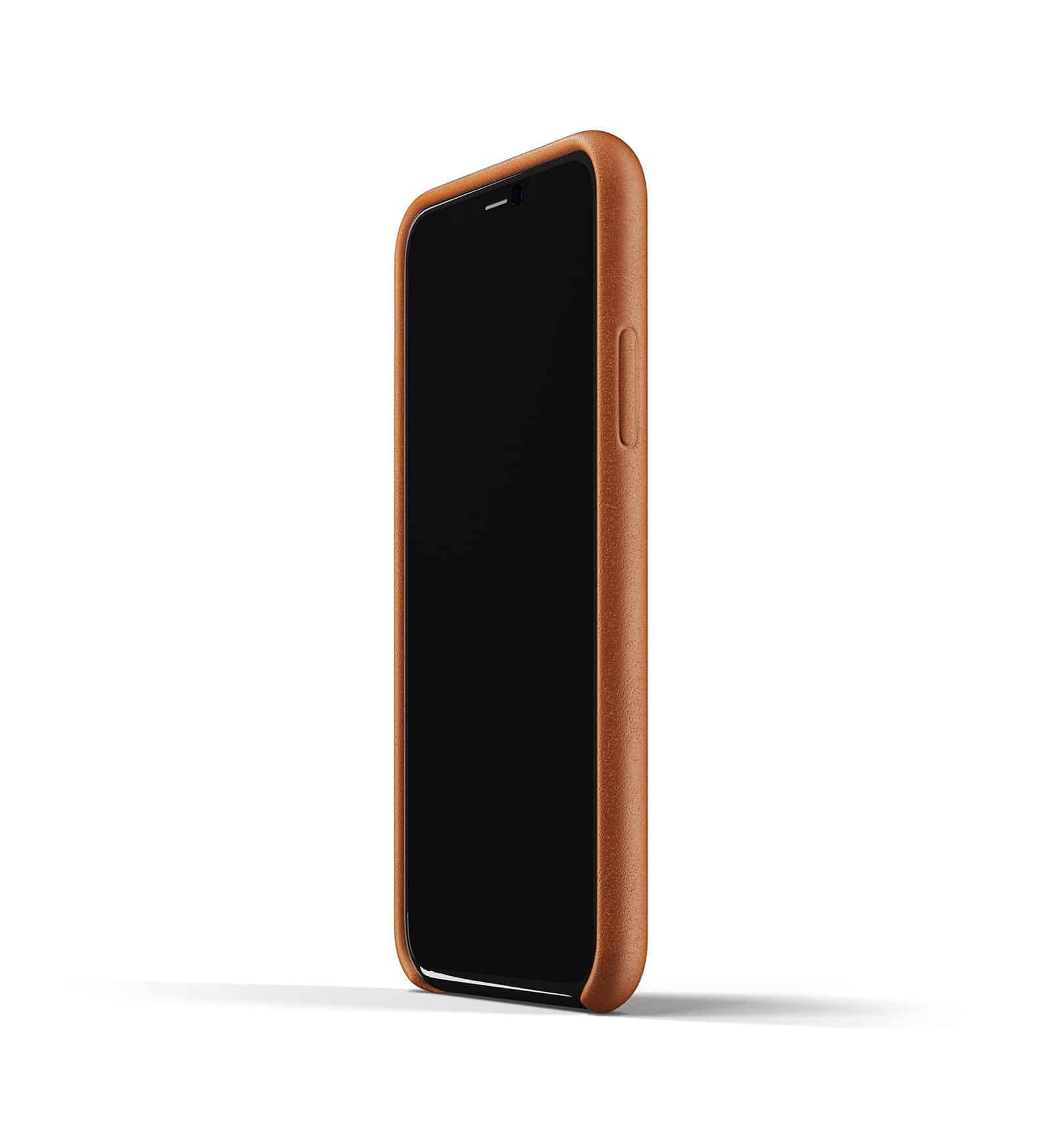 Full leather case for iPhone 11 Pro Tan Thumbnail 04