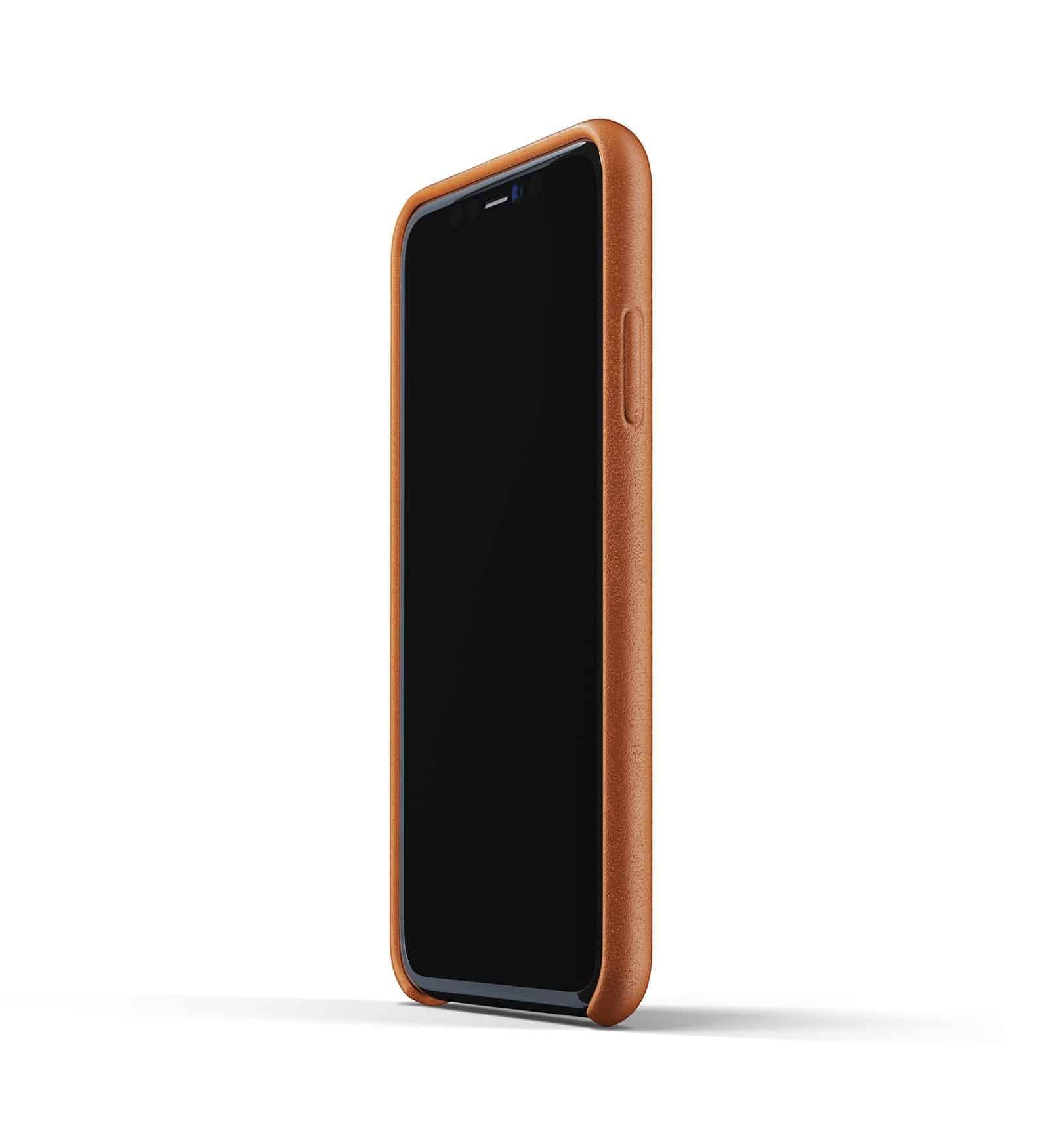 Full leather case for iPhone 11 Tan Thumbnail 04
